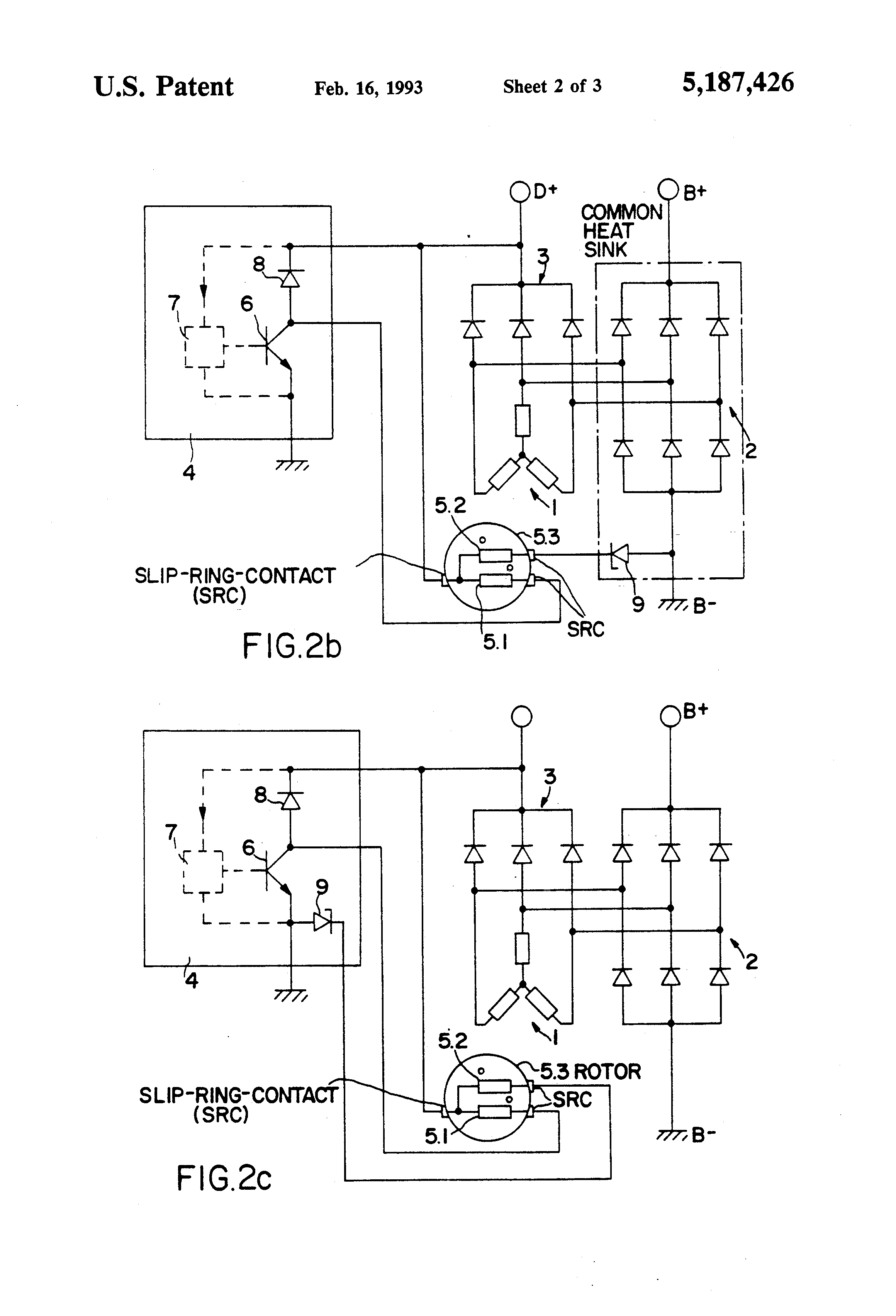 US5187426 2 patent us5187426 device for limiting the terminal voltage in an mecc alte alternators wiring diagram at gsmportal.co