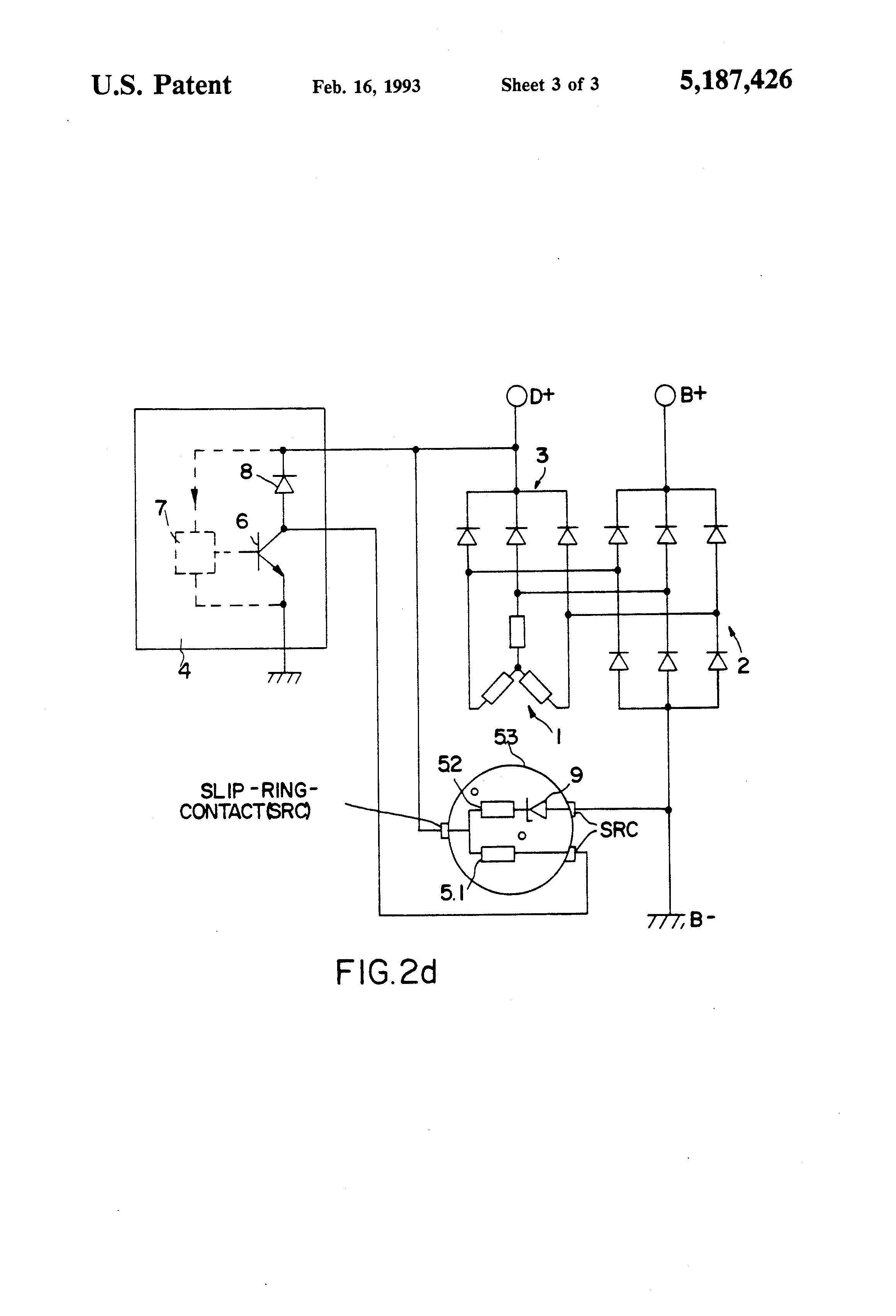 US5187426 3 patent us5187426 device for limiting the terminal voltage in an mecc alte alternators wiring diagram at gsmportal.co
