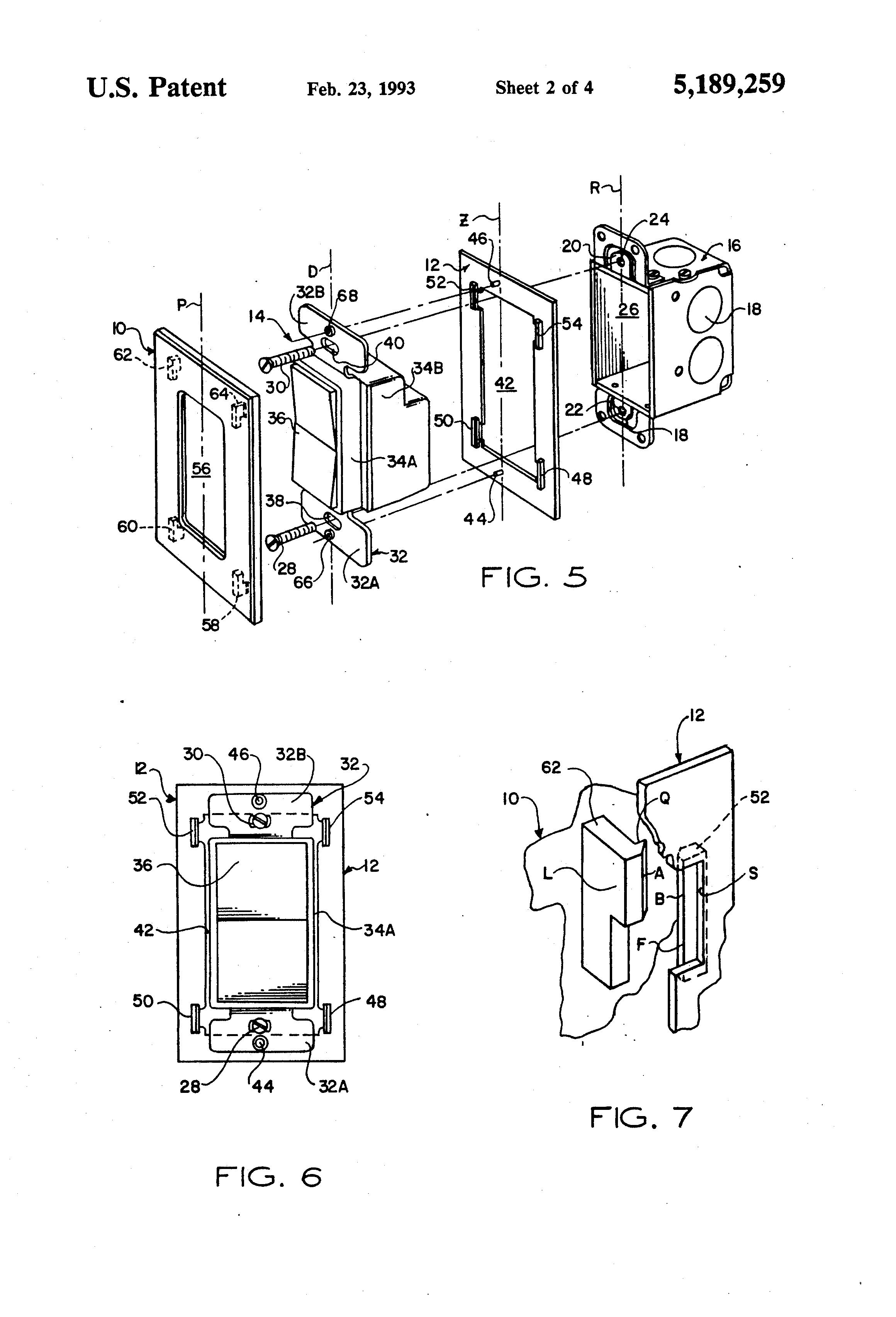 patent us5189259