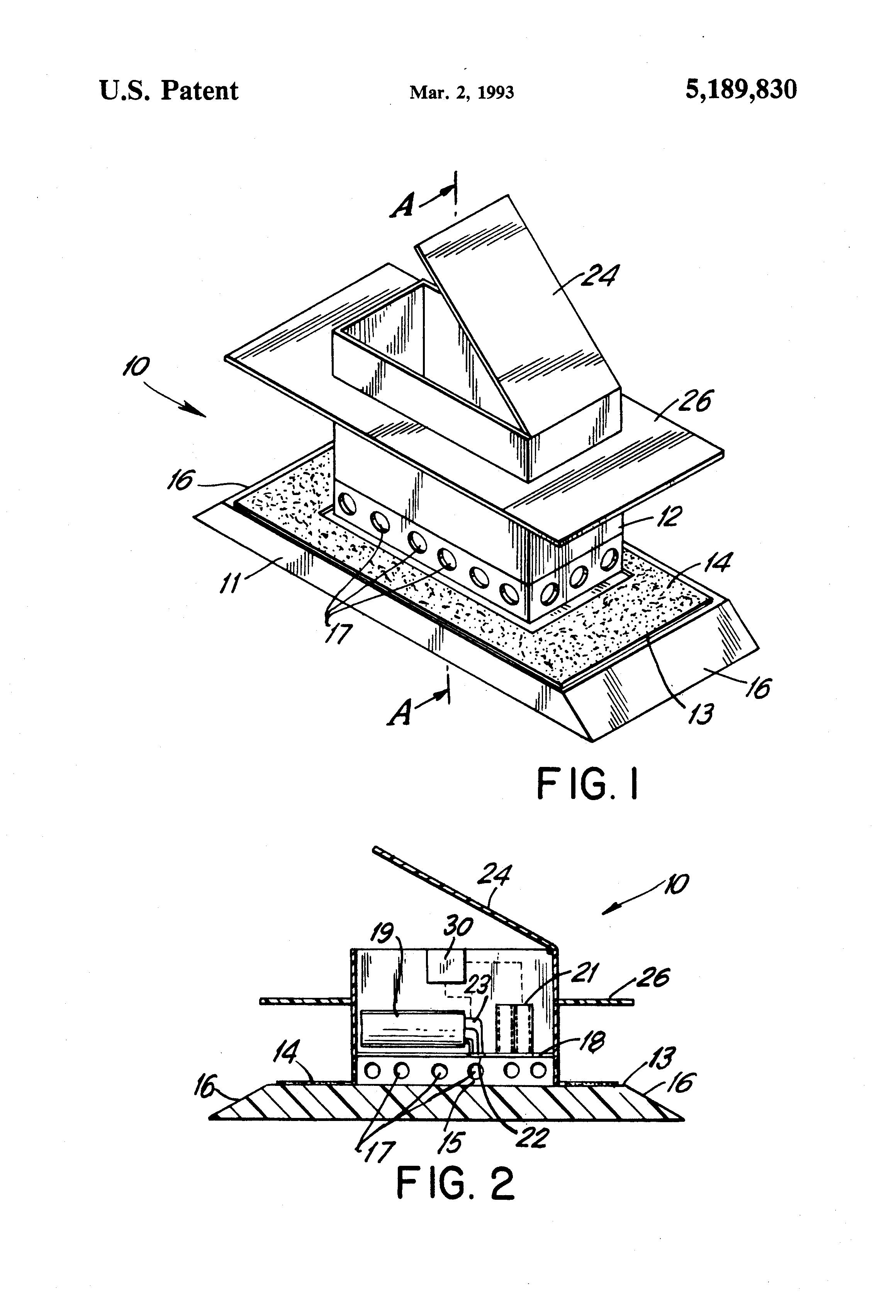 patent us5189830 - tick trap