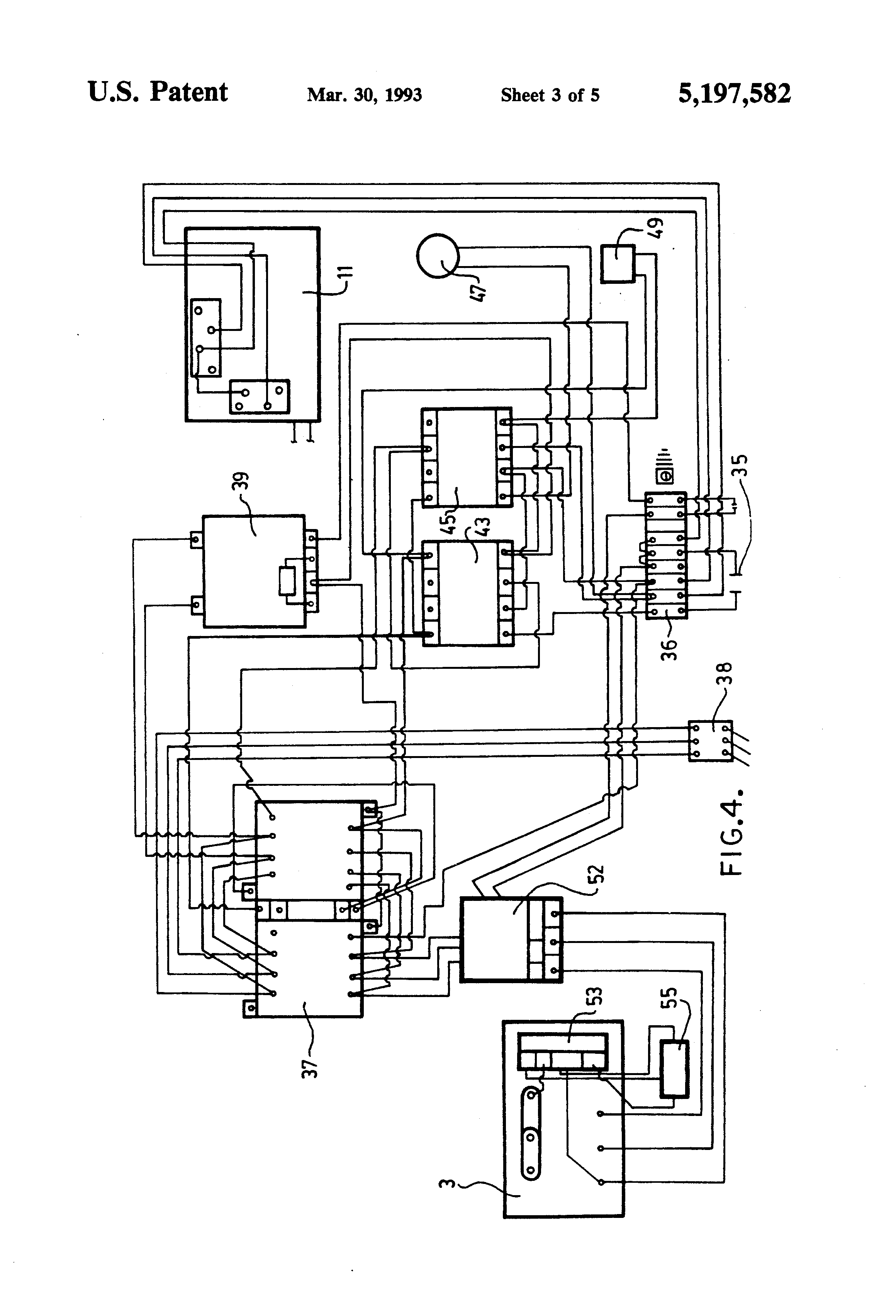 US5197582 3 patent us5197582 electric door opener for sliding doors google sew eurodrive wiring diagrams at fashall.co