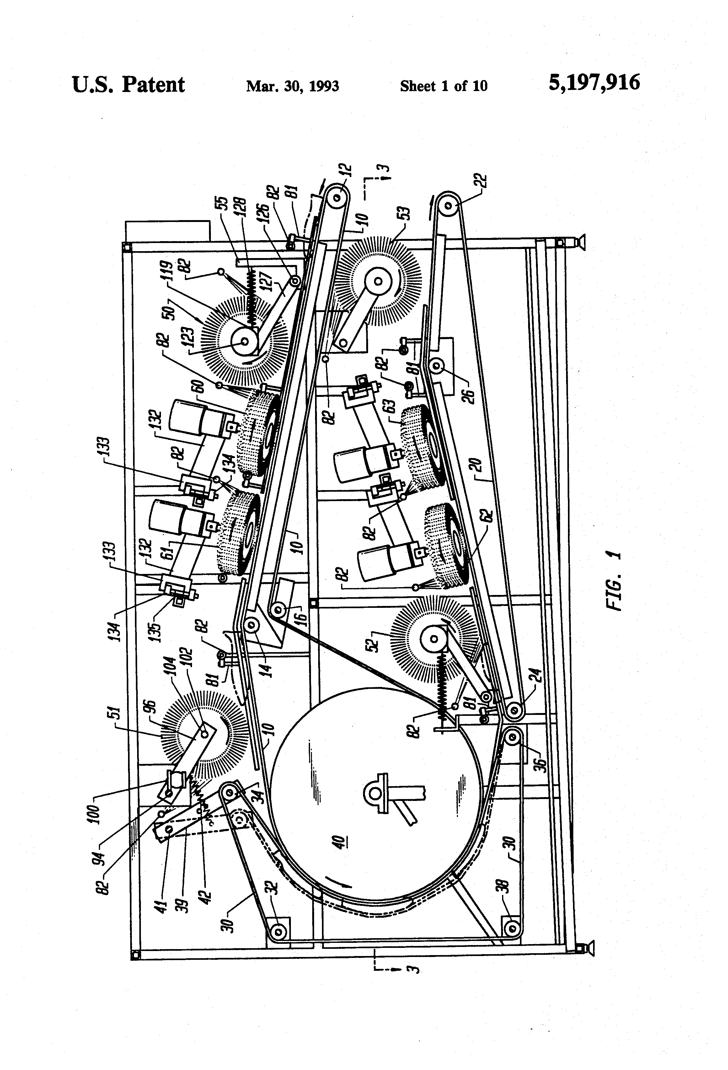 Patent Us5197916 Fish Skinner Google Patents 1930 Ford Model A Wiring Diagram Drawing
