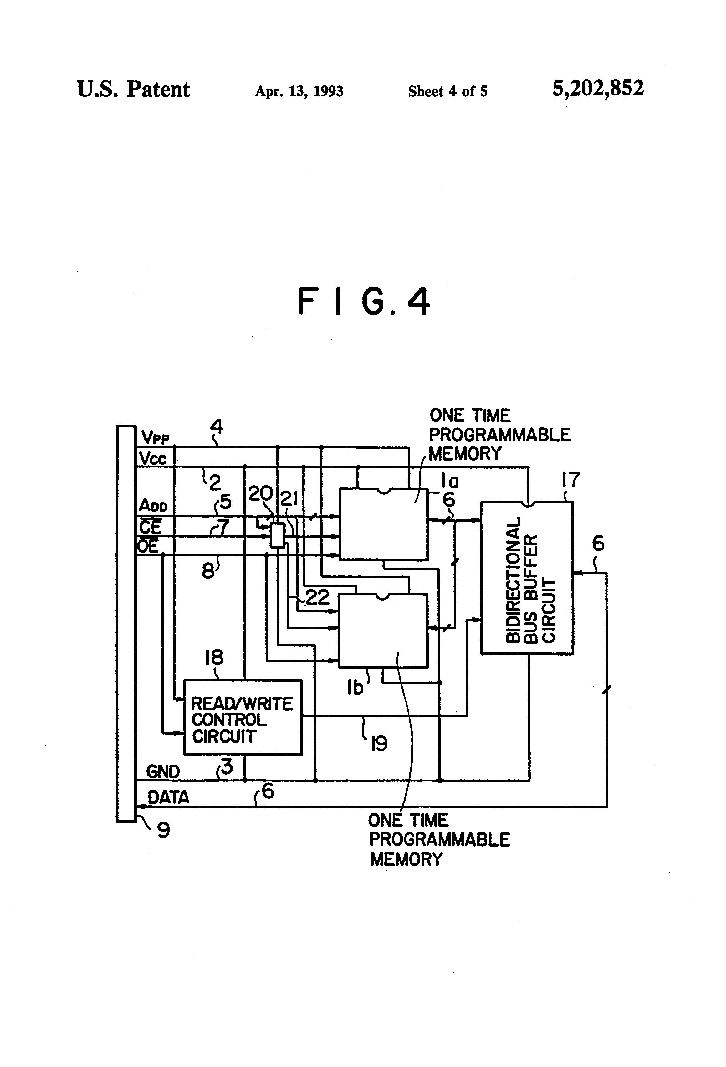 patent us5202852