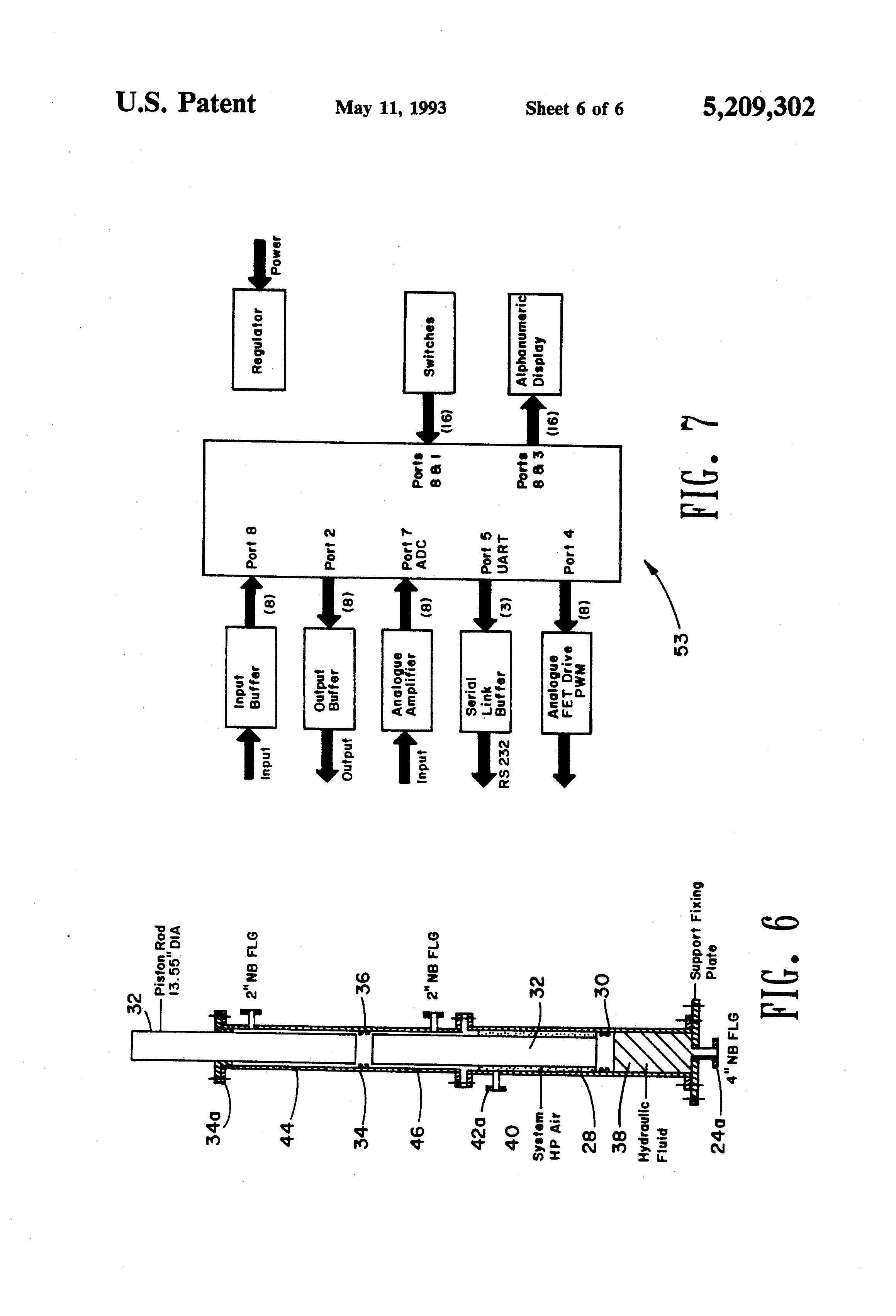 patent us5209302 - semi-active heave compensation system for marine vessels