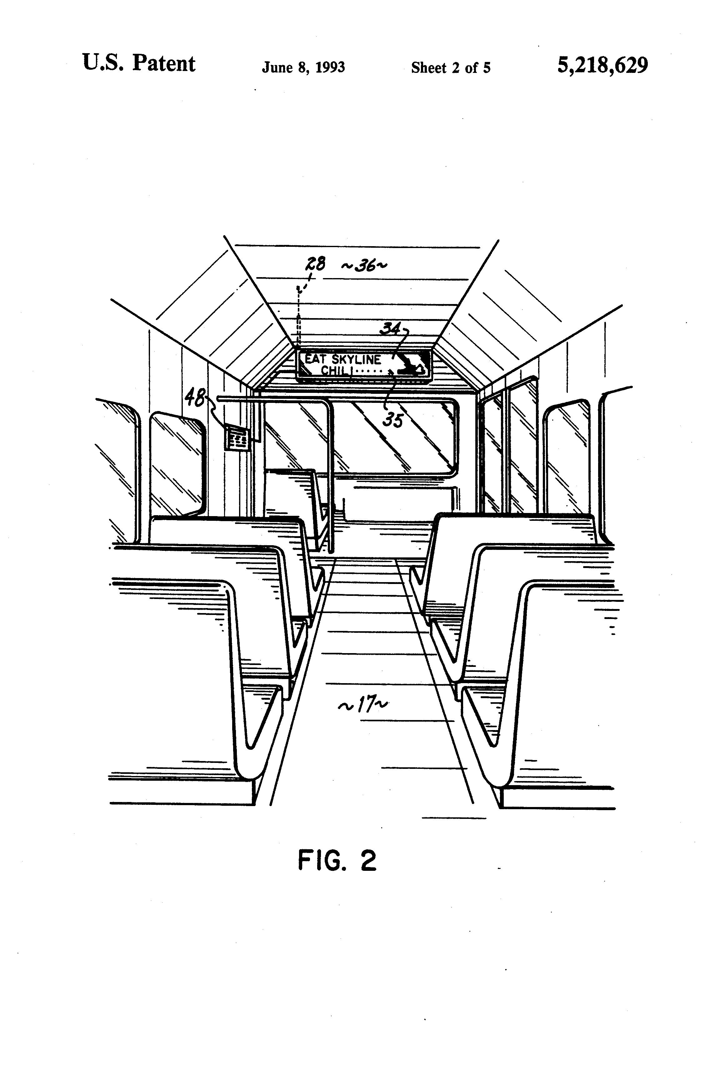 patent us5218629