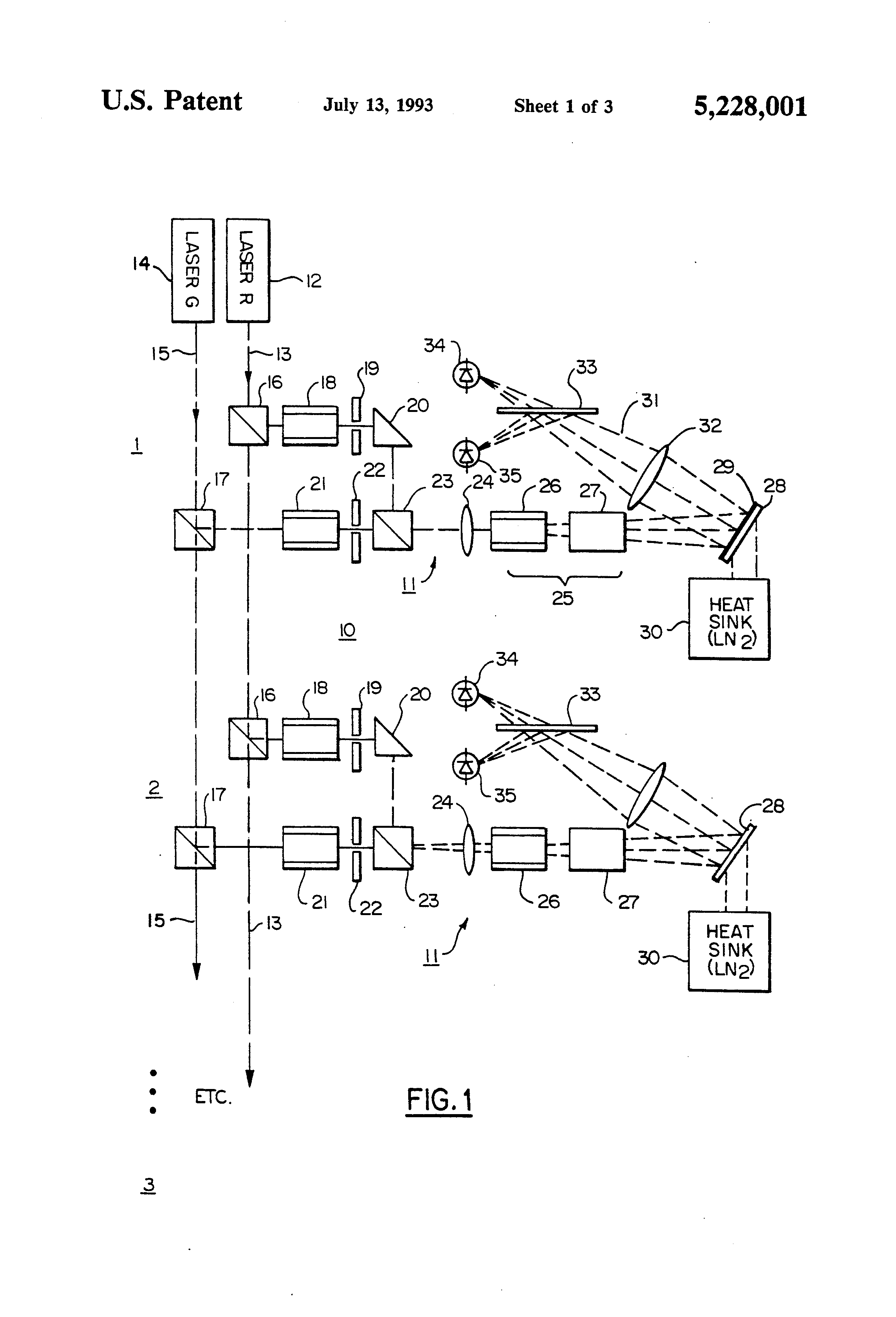 patent us5228001 - optical random access memory