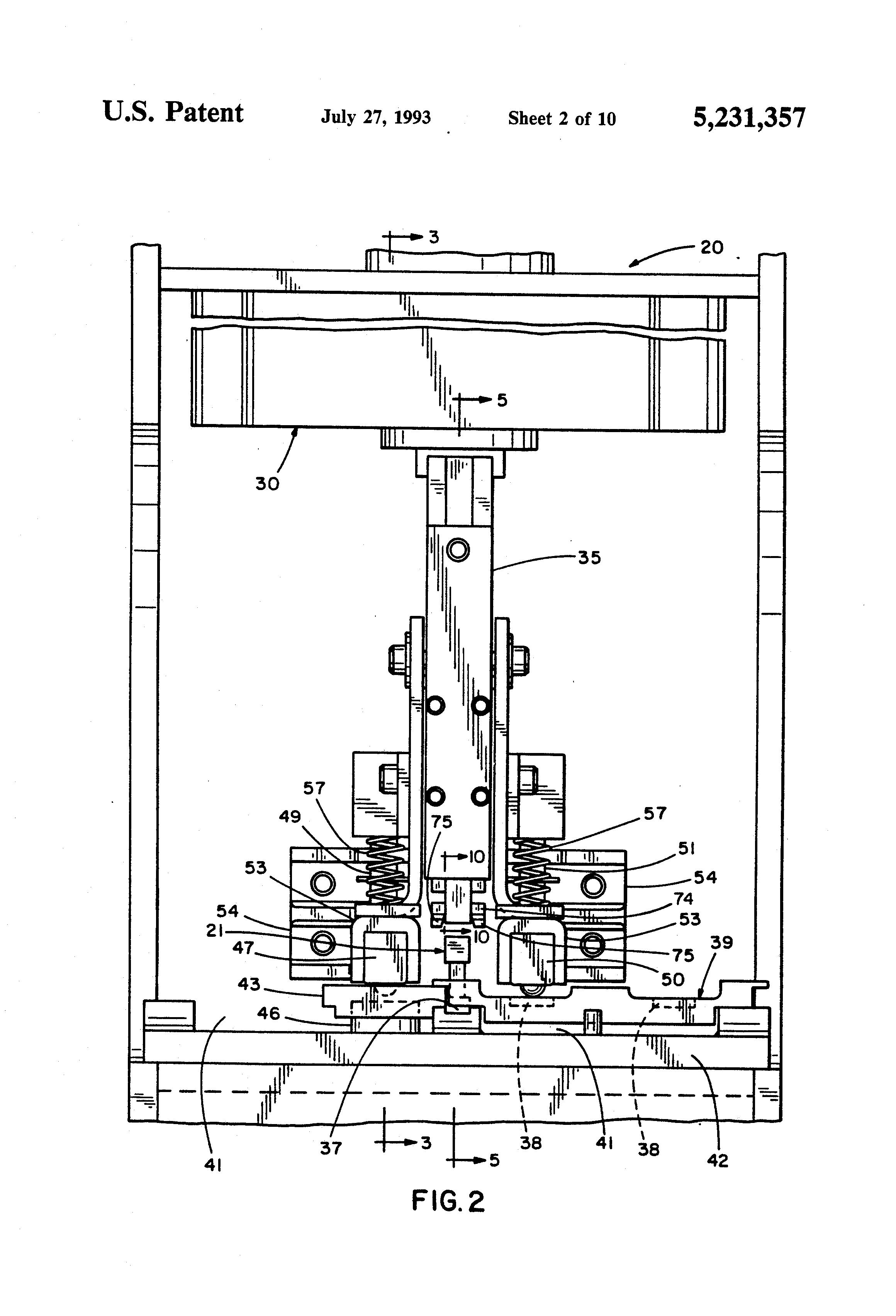 patent us5231357