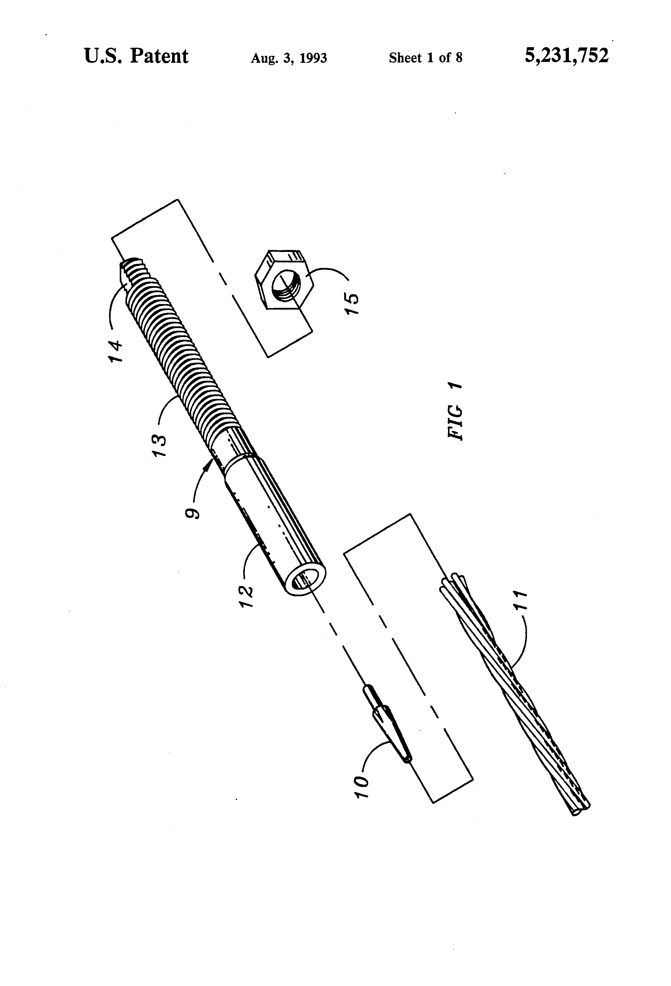 Patent US5231752 - Wire rope termination - Google Patents