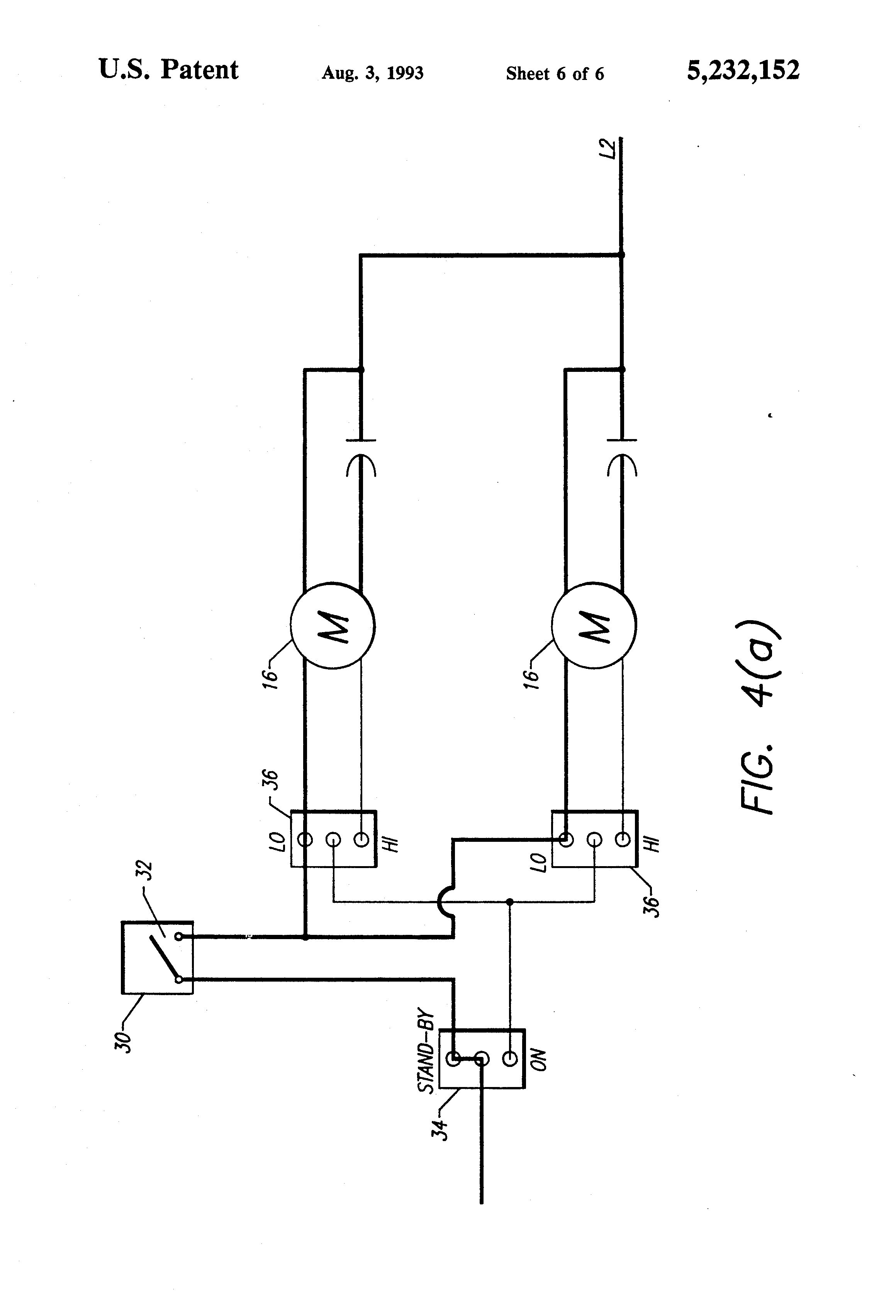 patent us5232152 - range hood fan with atmospheric humidity sensor