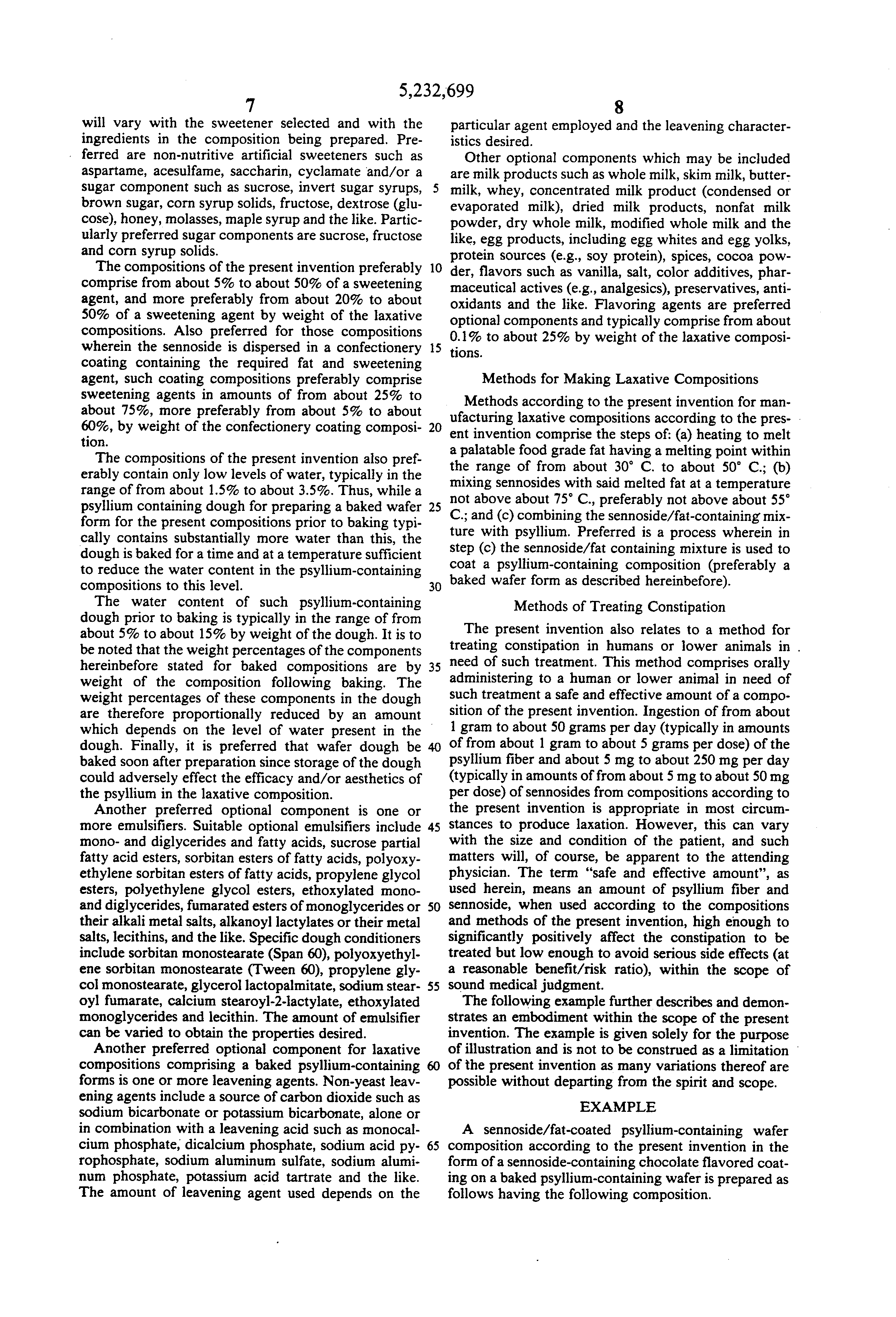 patent us laxative compositions patents patent drawing