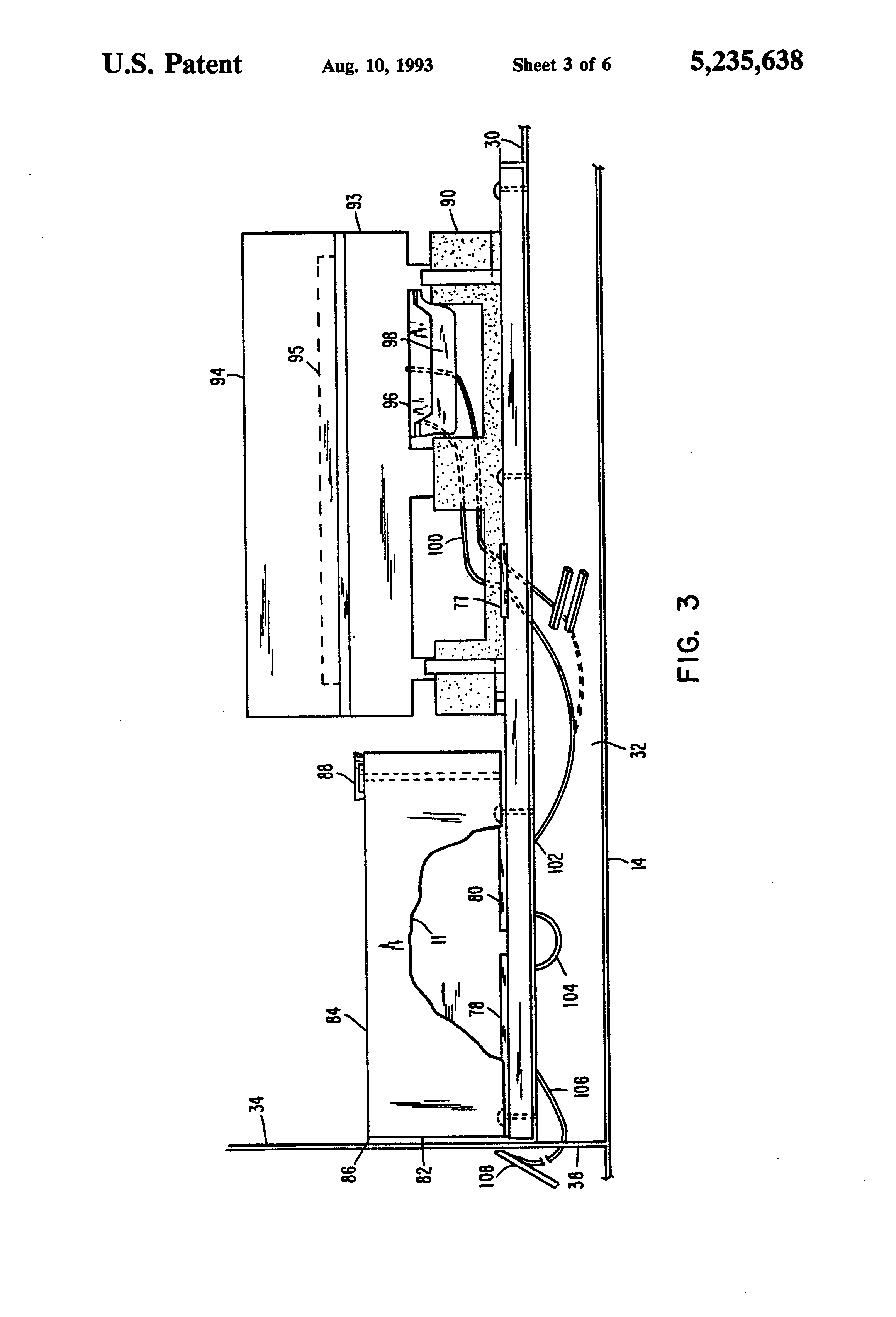 patent us5235638 - telephone network interface