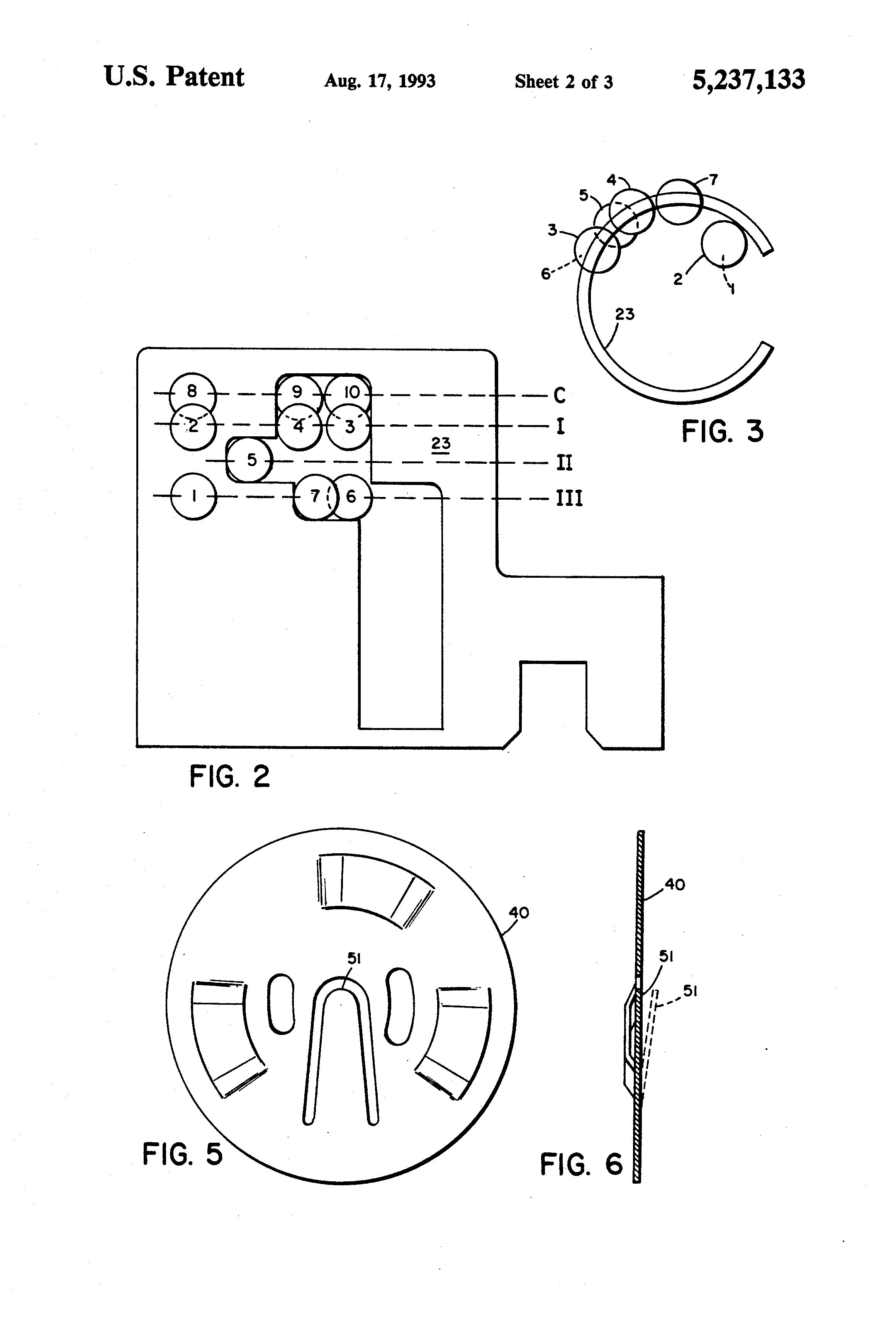 patent us5237133 - safety ignition switch