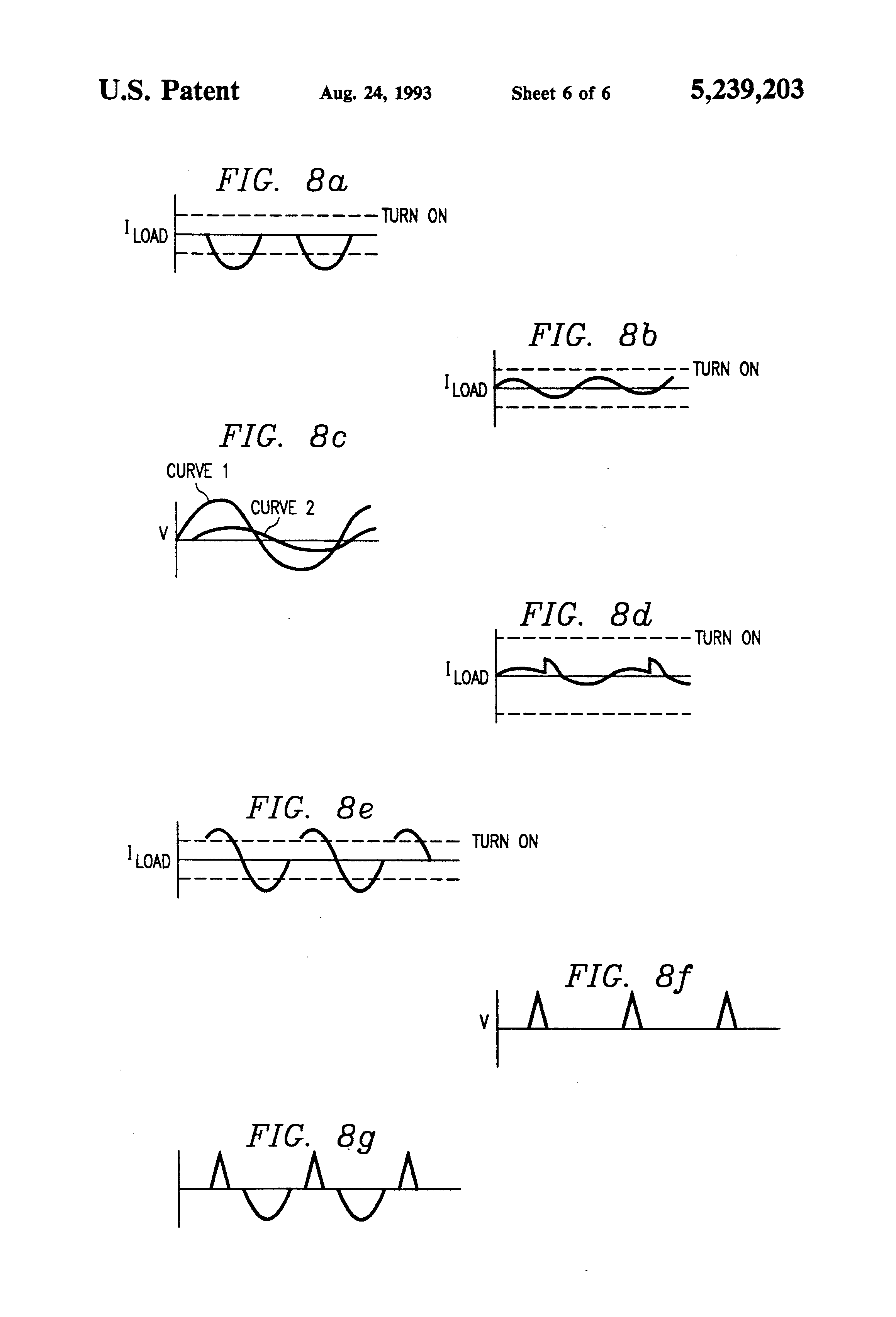Patent Us5239203 Common Ground Control Switch For An Irrigation Resistor R3 Which Is Sufficient To Trigger Triac Tr1 Circuit Diagram Drawing
