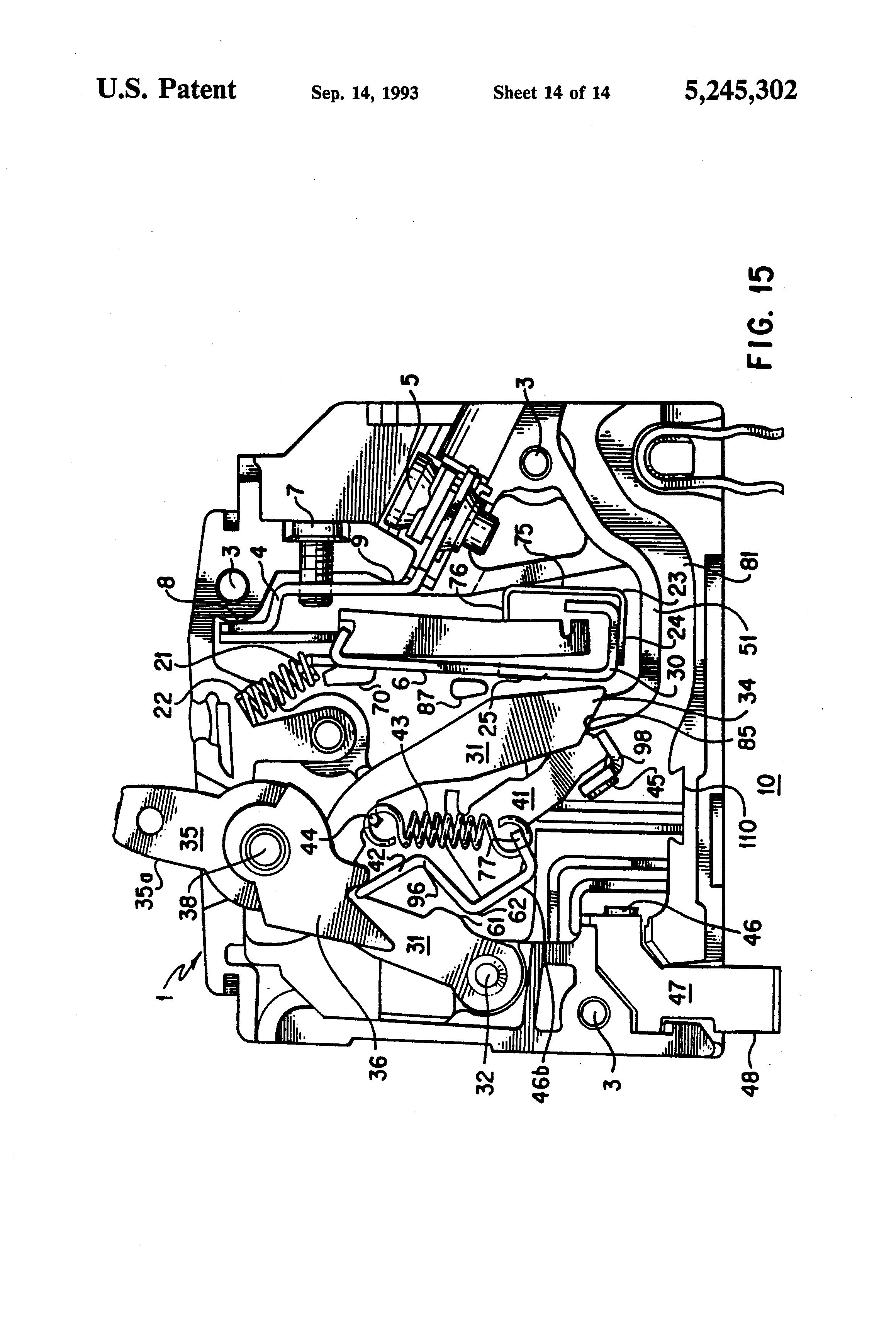 patent us5245302