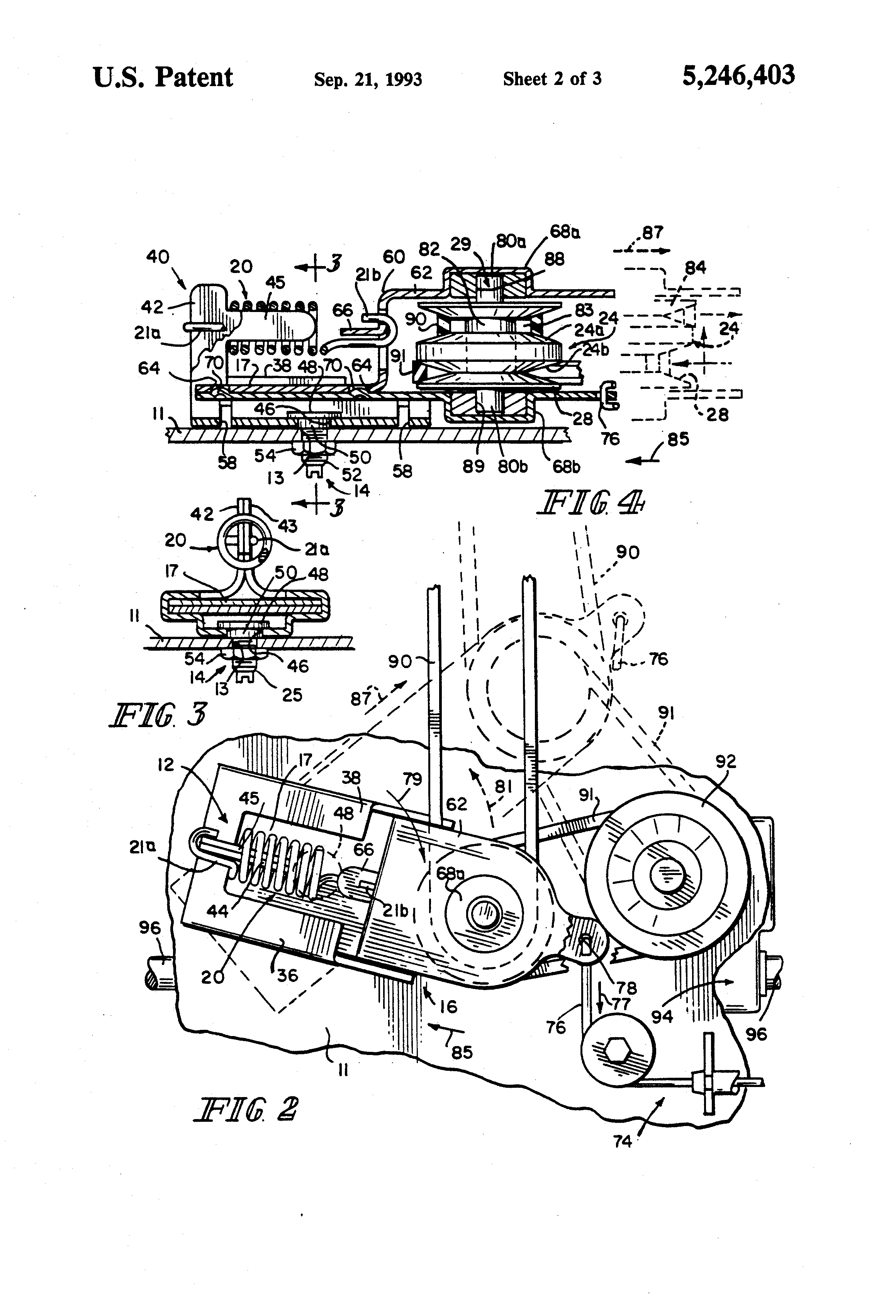 swisher 44 mower belt diagram