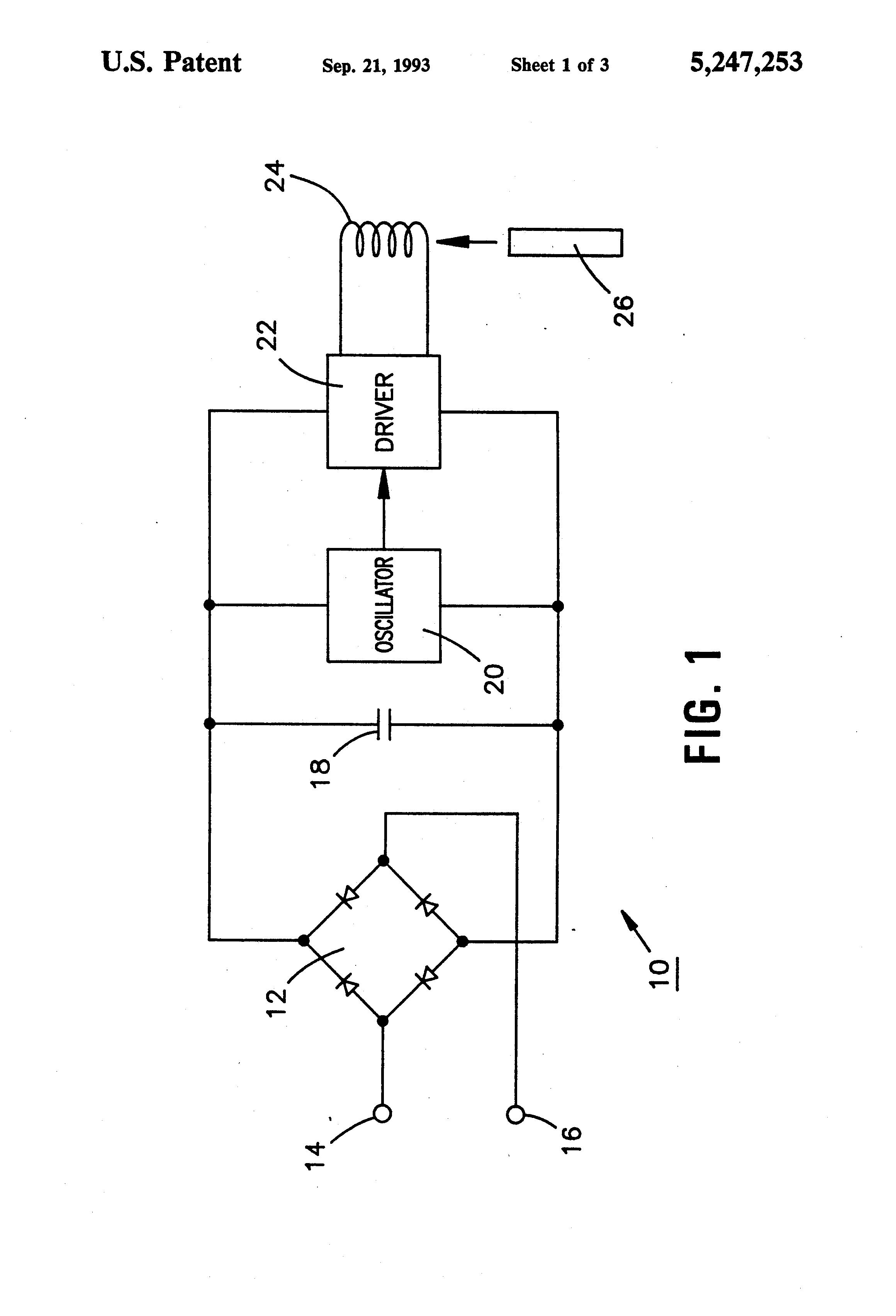 patent us5247253