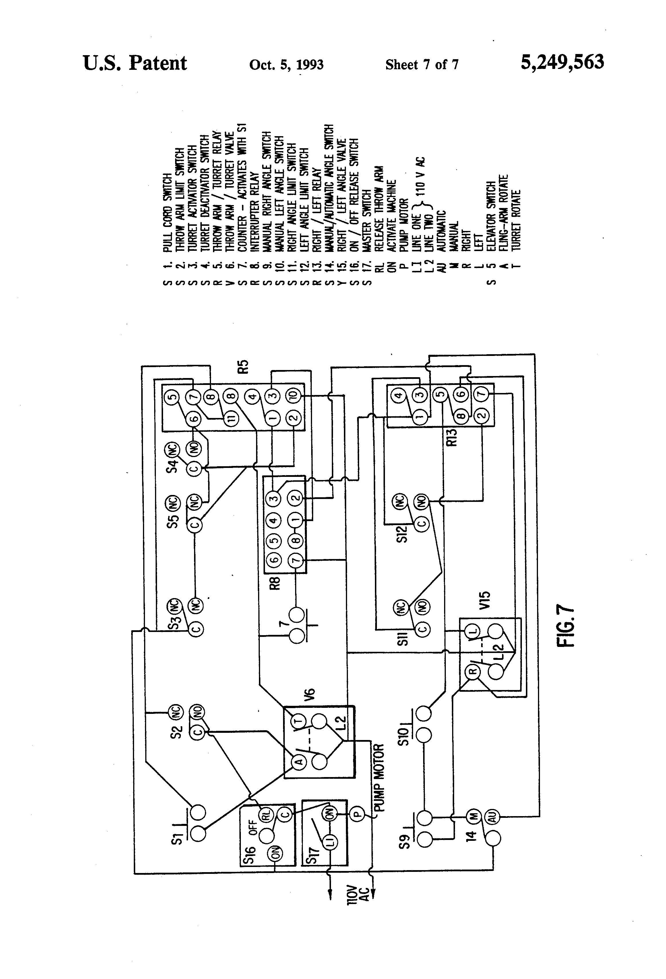 US5249563 7 patent us5249563 apparatus for propelling one or two clay laporte traps wiring diagram at bayanpartner.co