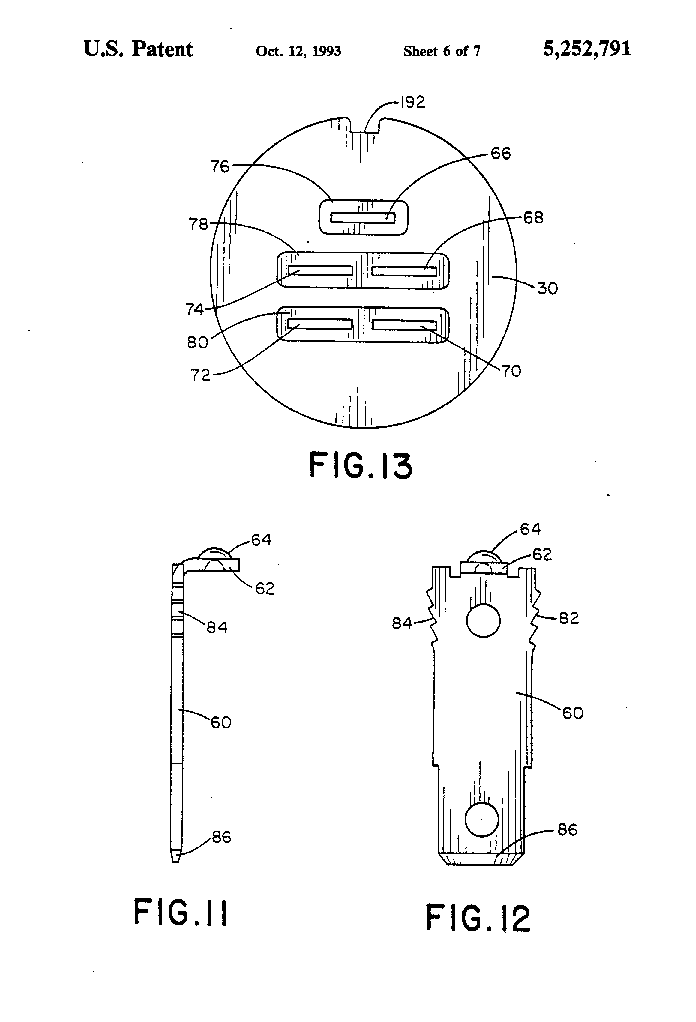 Patent Us5252791 - Ignition Switch