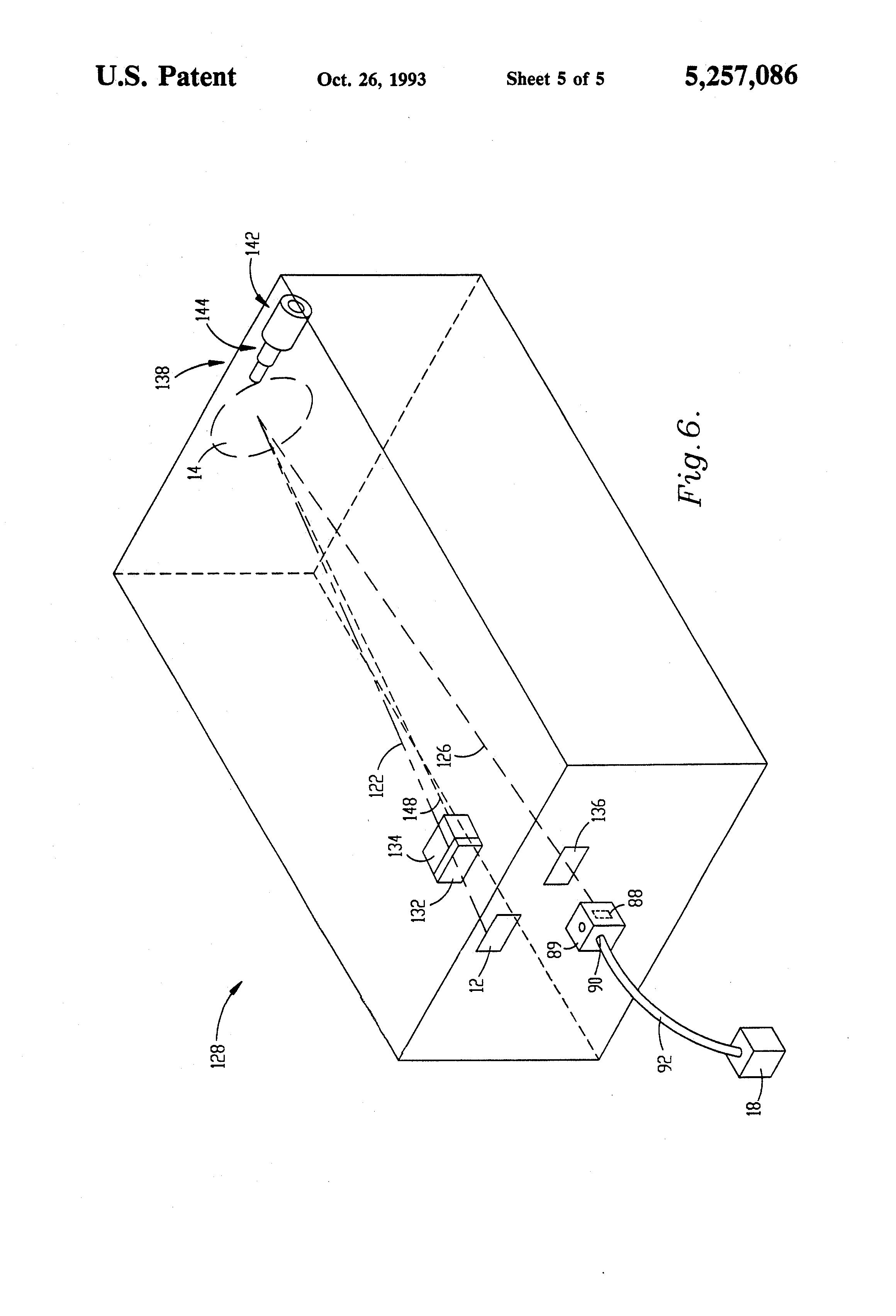 patent us5257086