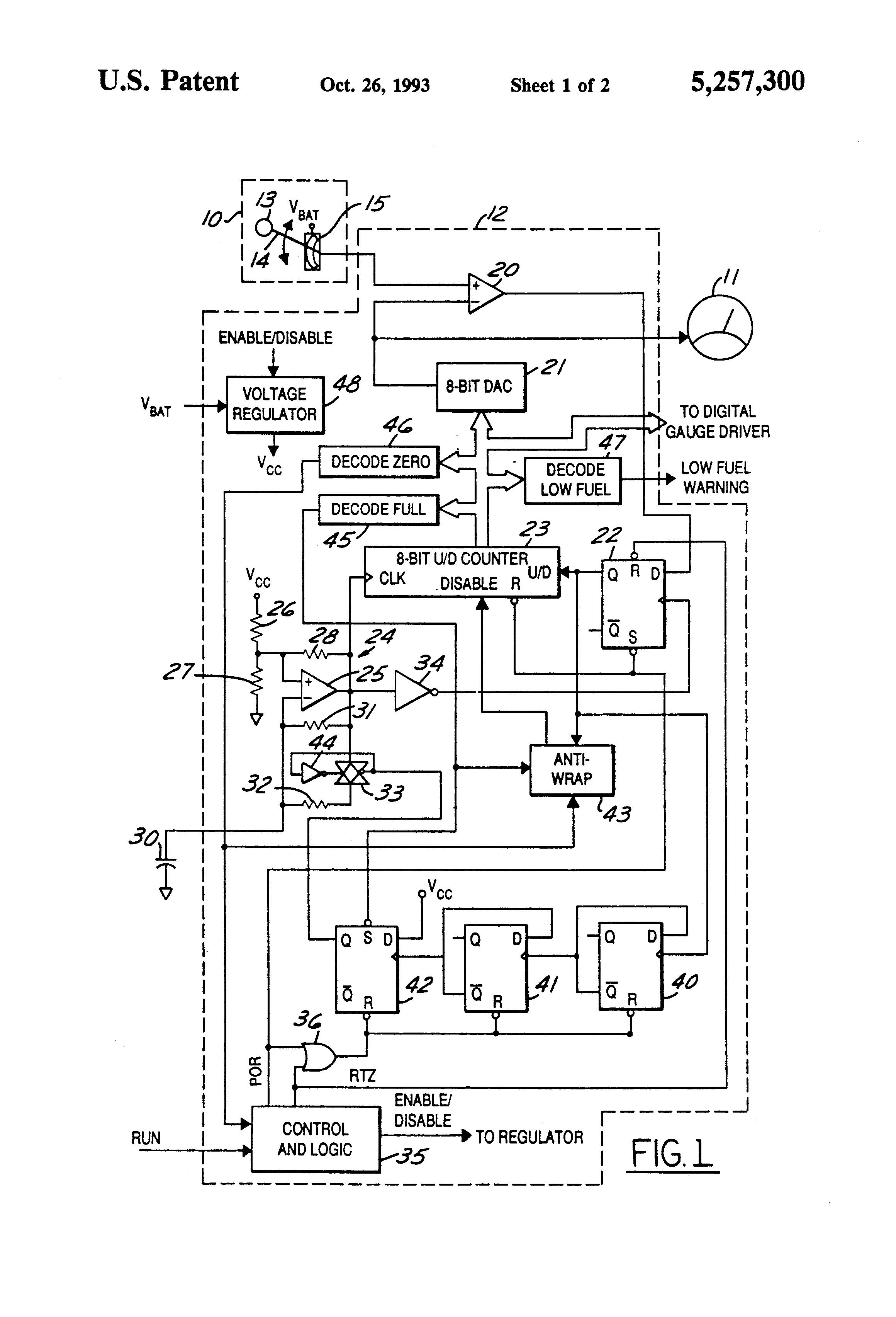 patent us5257300 - digital anti-slosh system
