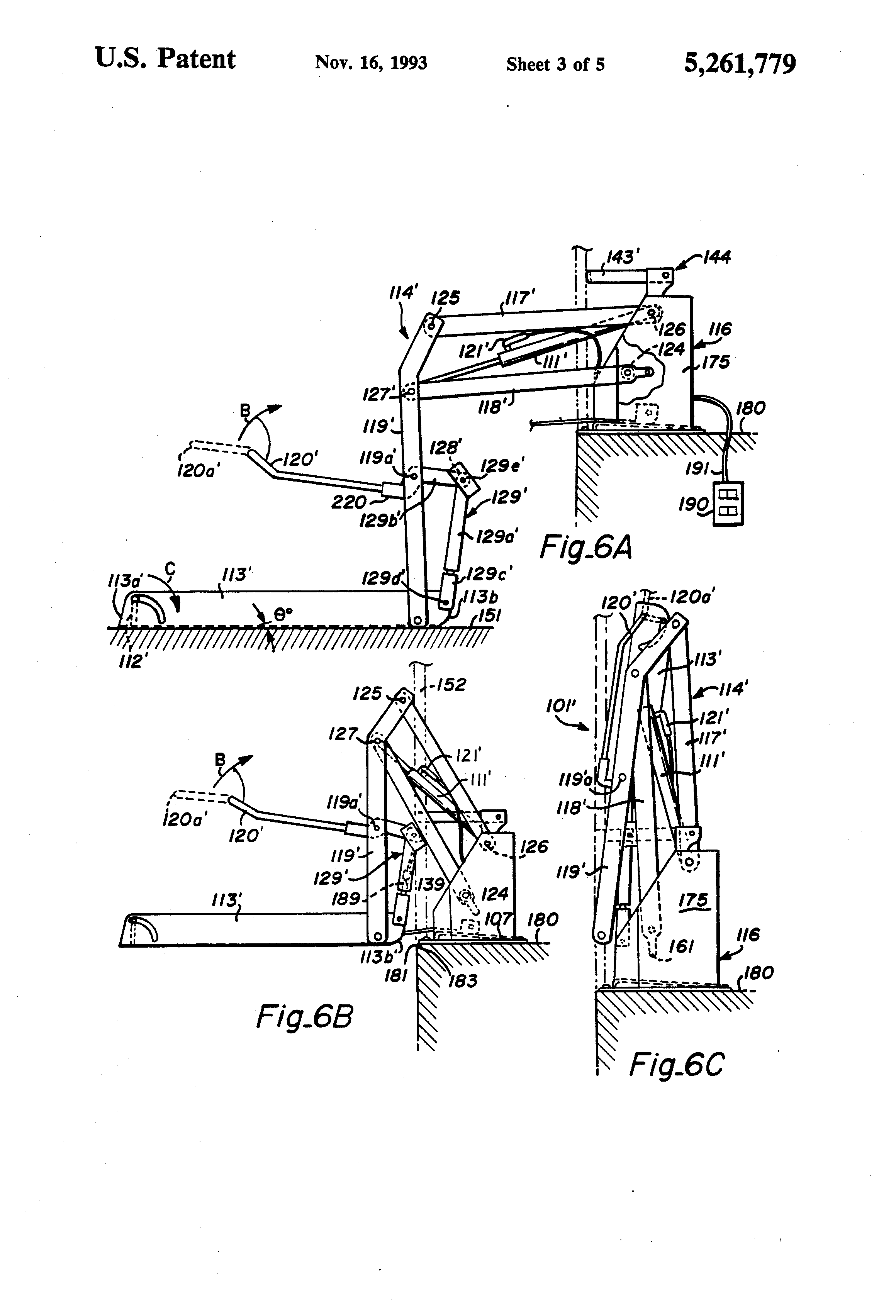 Hydraulic Lift Schematic : Patent us dual hydraulic parallelogram arm