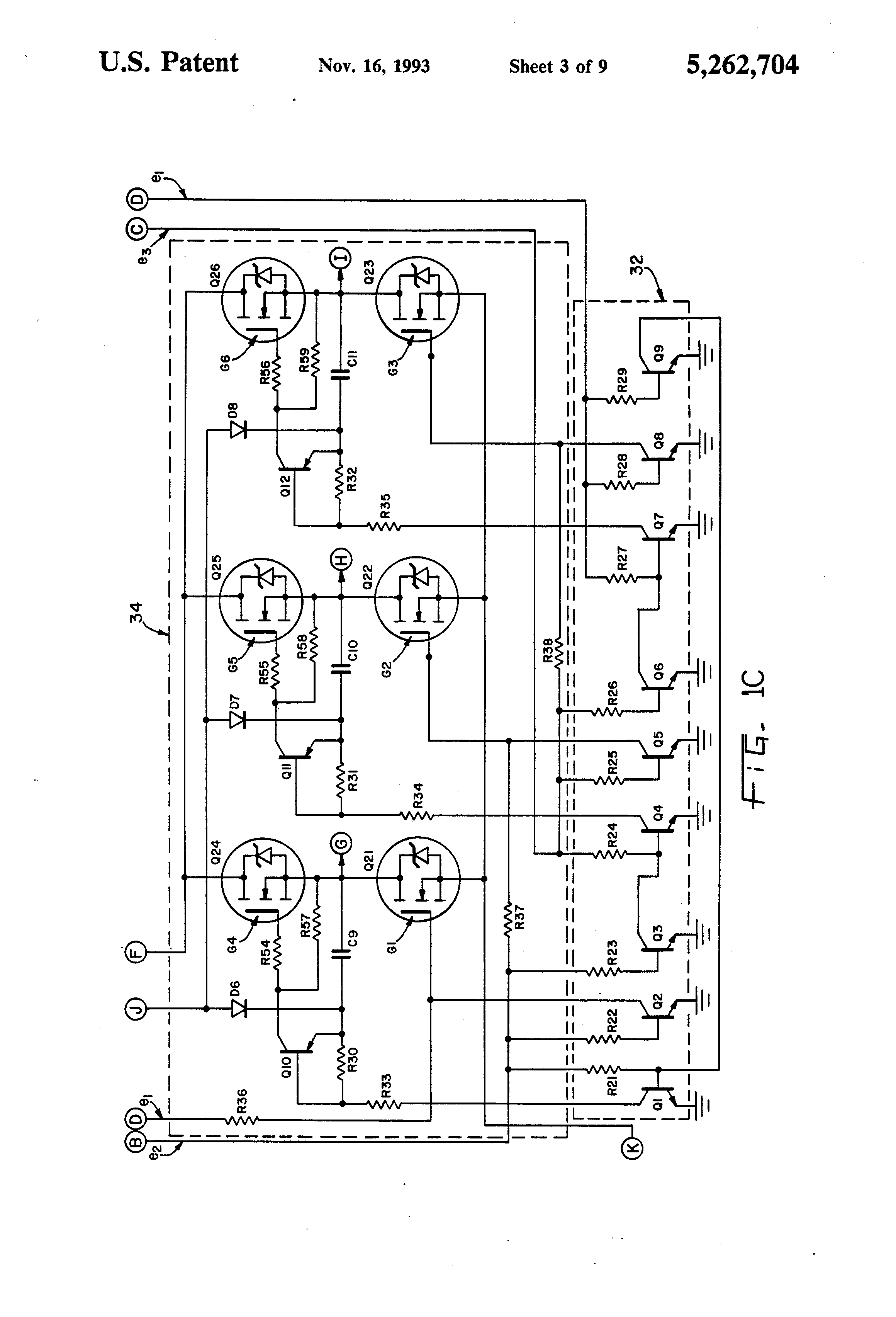 patent us5262704 - protection circuit in inverter for refrigerators