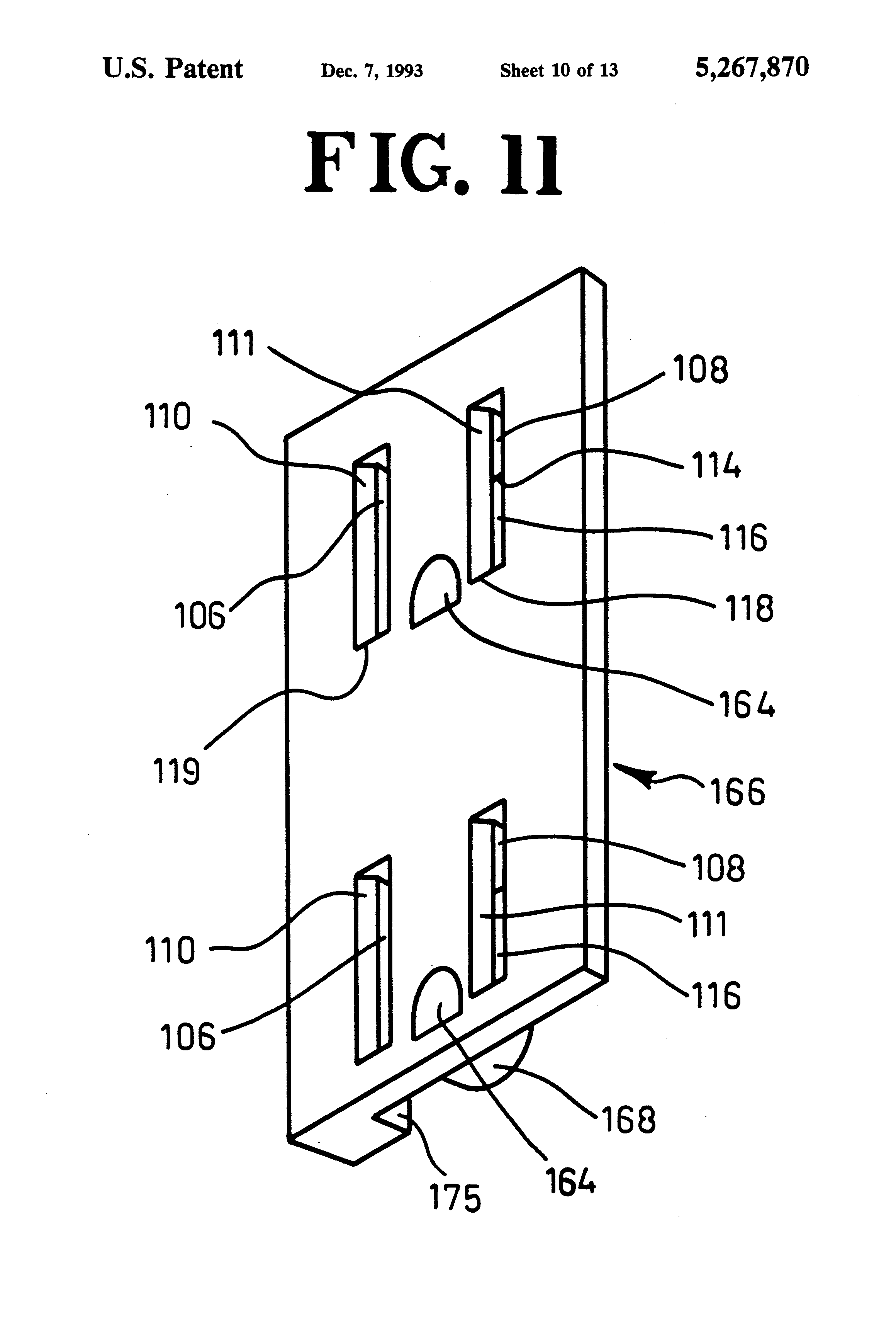 Pivoting Face Receptacle Google Patents On Wiring In Receptacles Series Patent Us5267870 Childproof Electrical