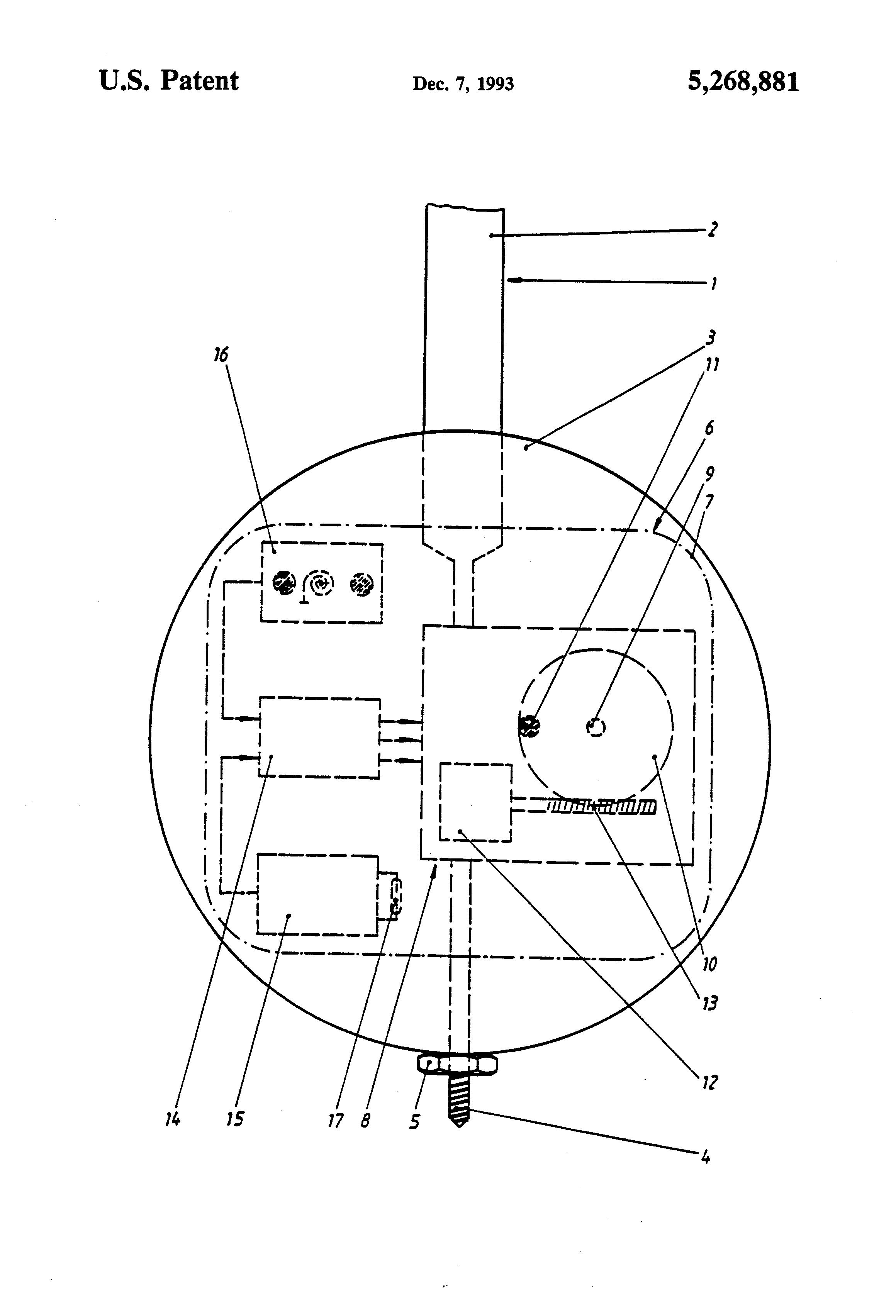 patent us5268881