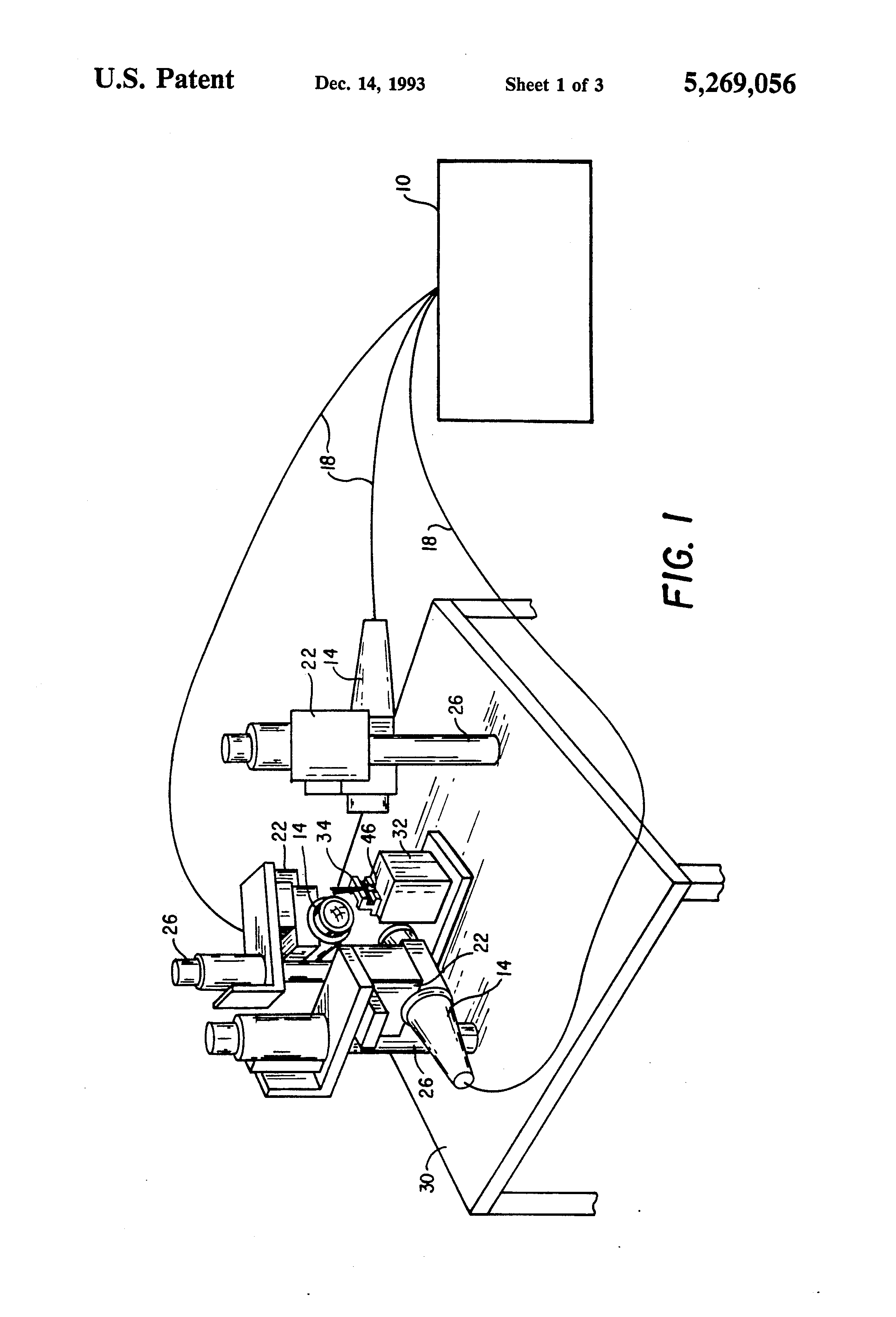 Patente Us5269056 Laser Welding Of Wire Strands To An Electrode Diagram Patent Drawing