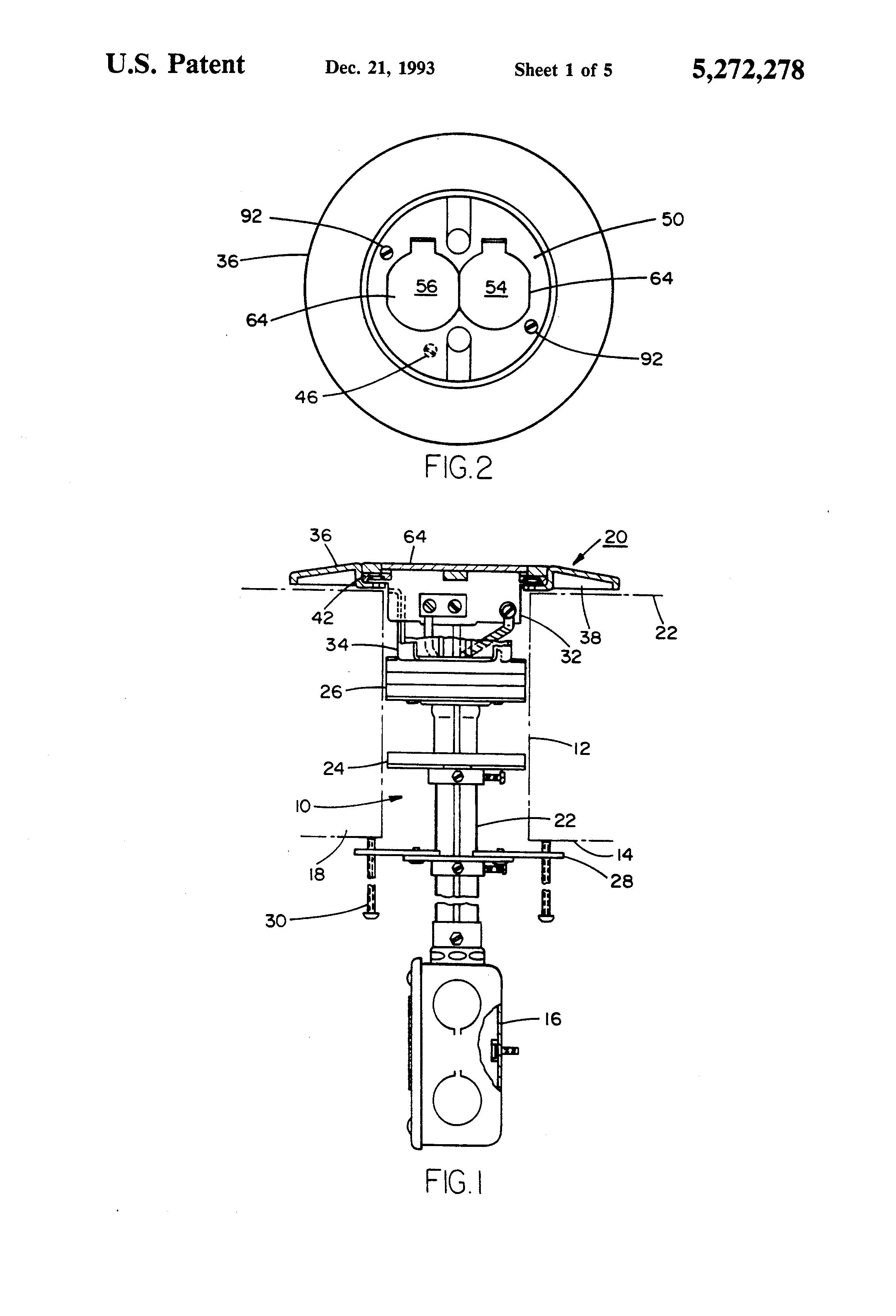 patent us5272278