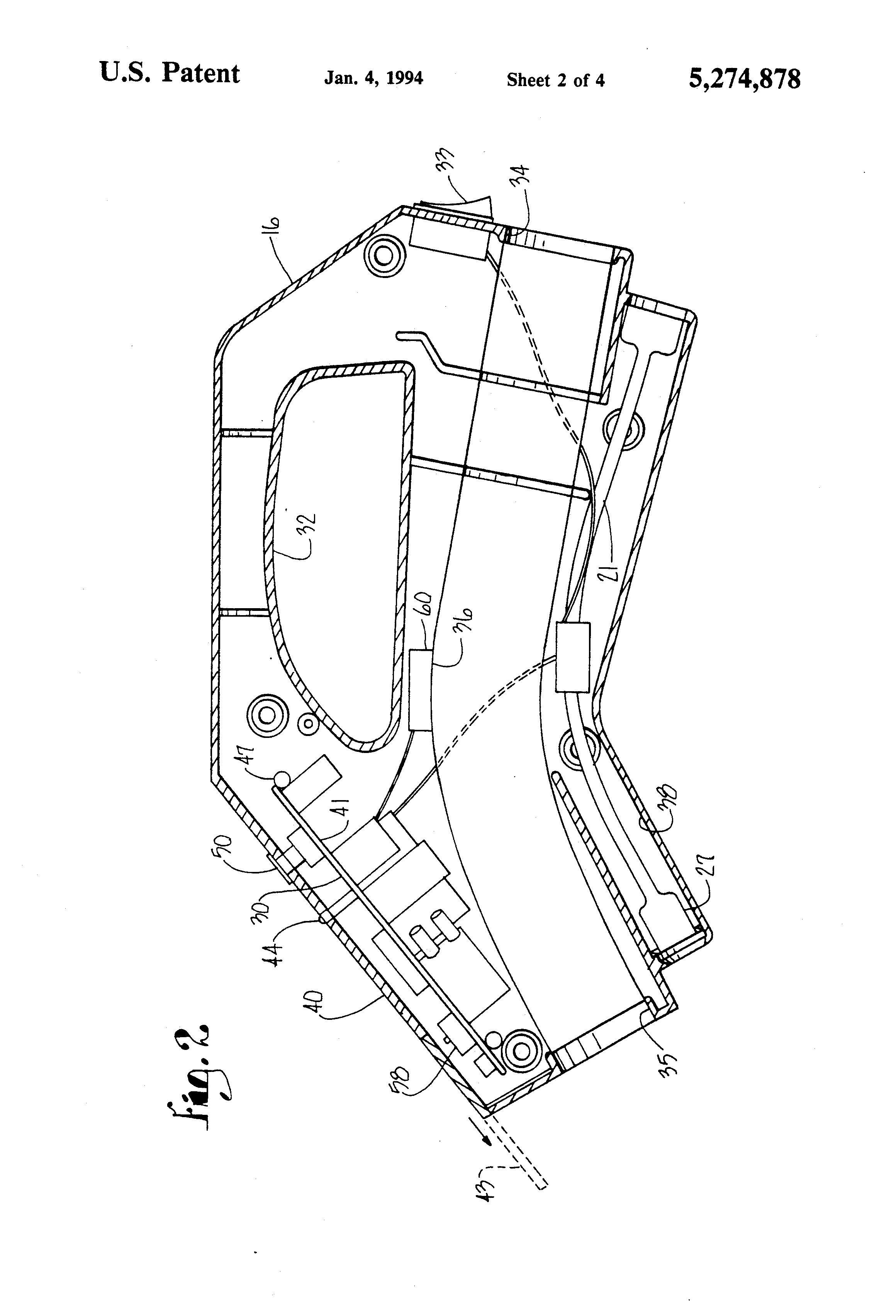 patent us5274878