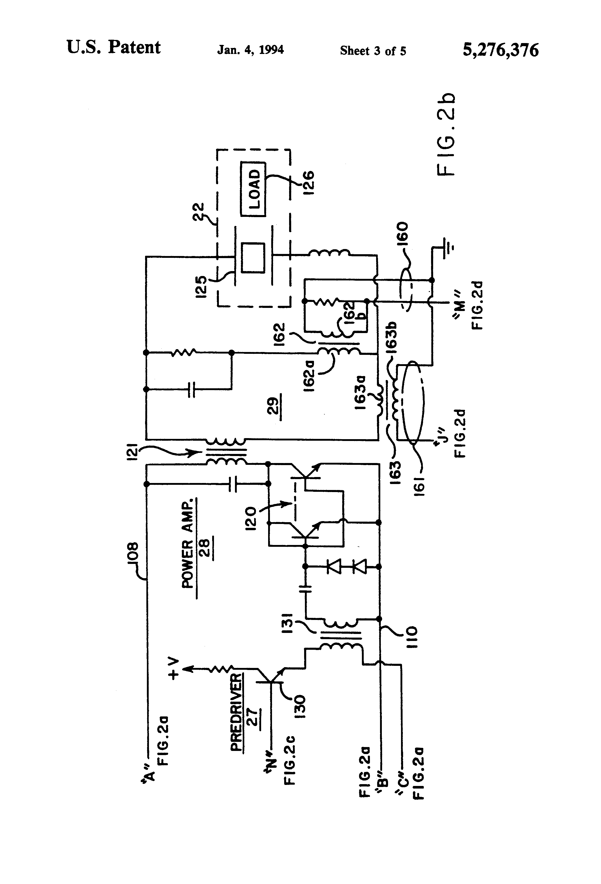 patent us5276376 - variable frequency ultrasonic generator with constant power output