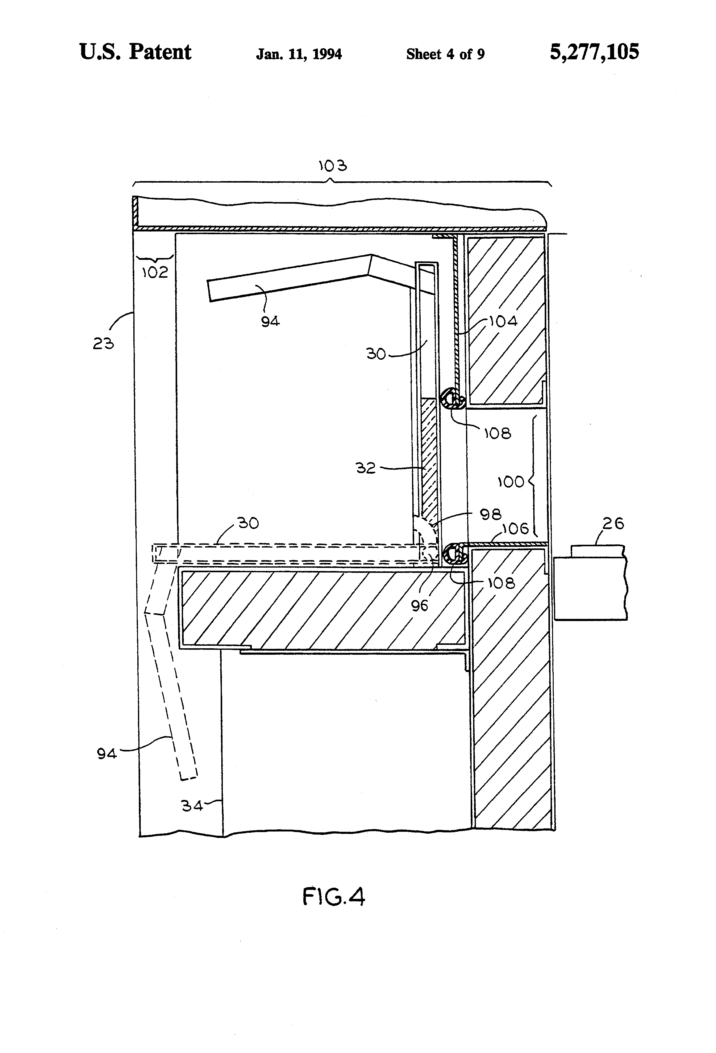 US5277105 4 patent us5277105 low profile stackable conveyor oven google  at alyssarenee.co