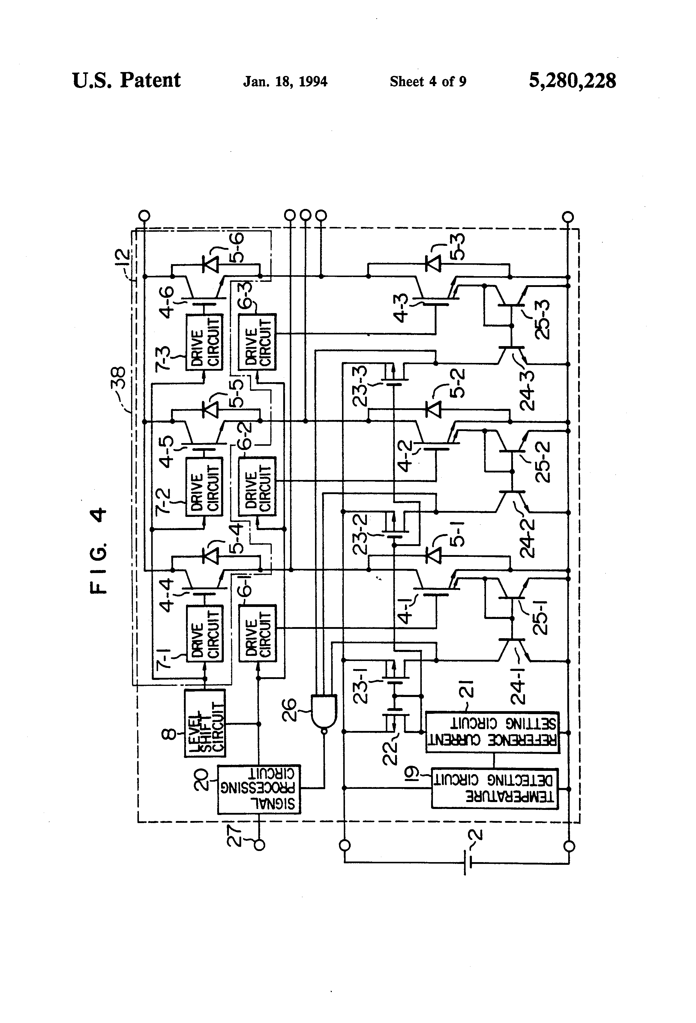 patent us5280228 - inverter circuit