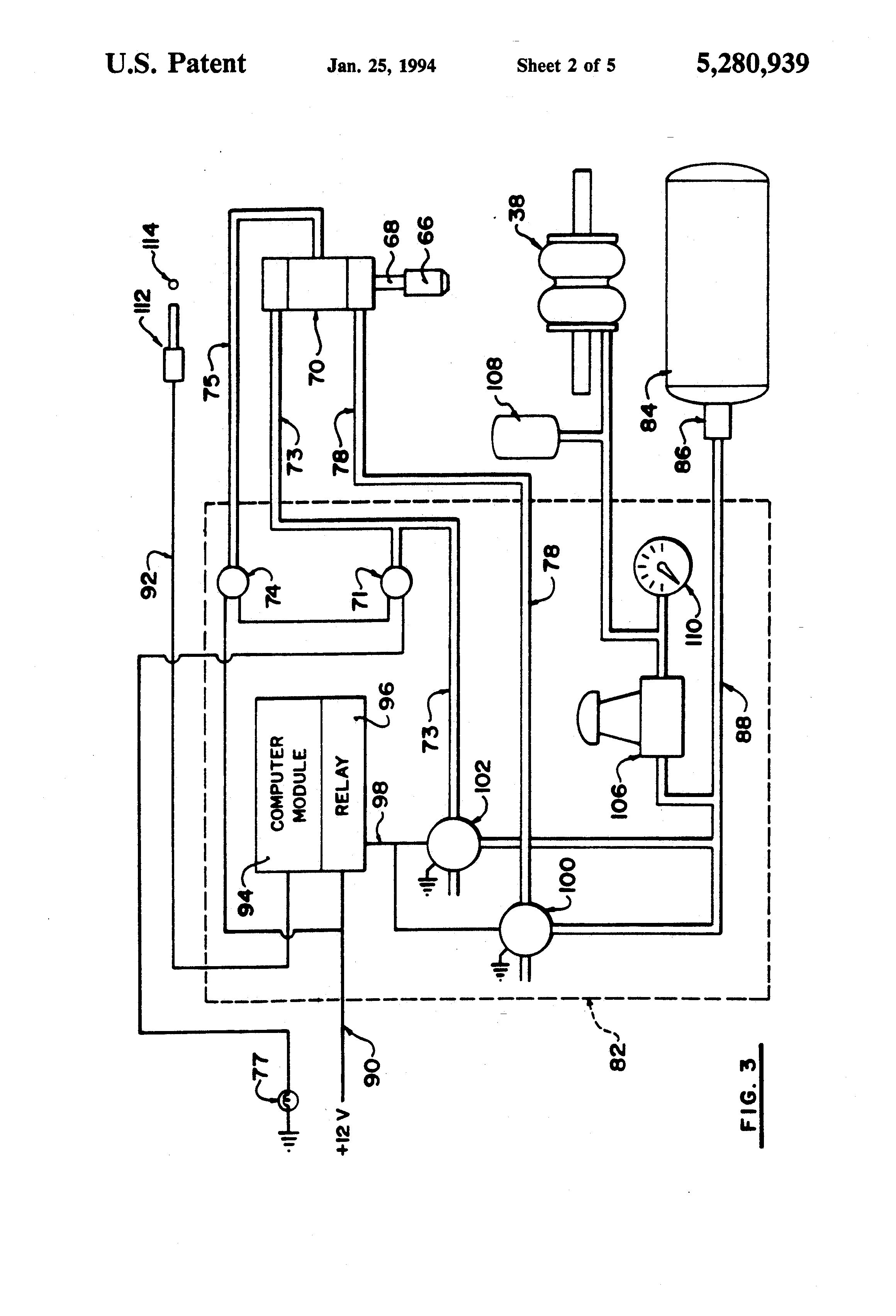 patent us5280939 steering control systems for c dollies and patent drawing
