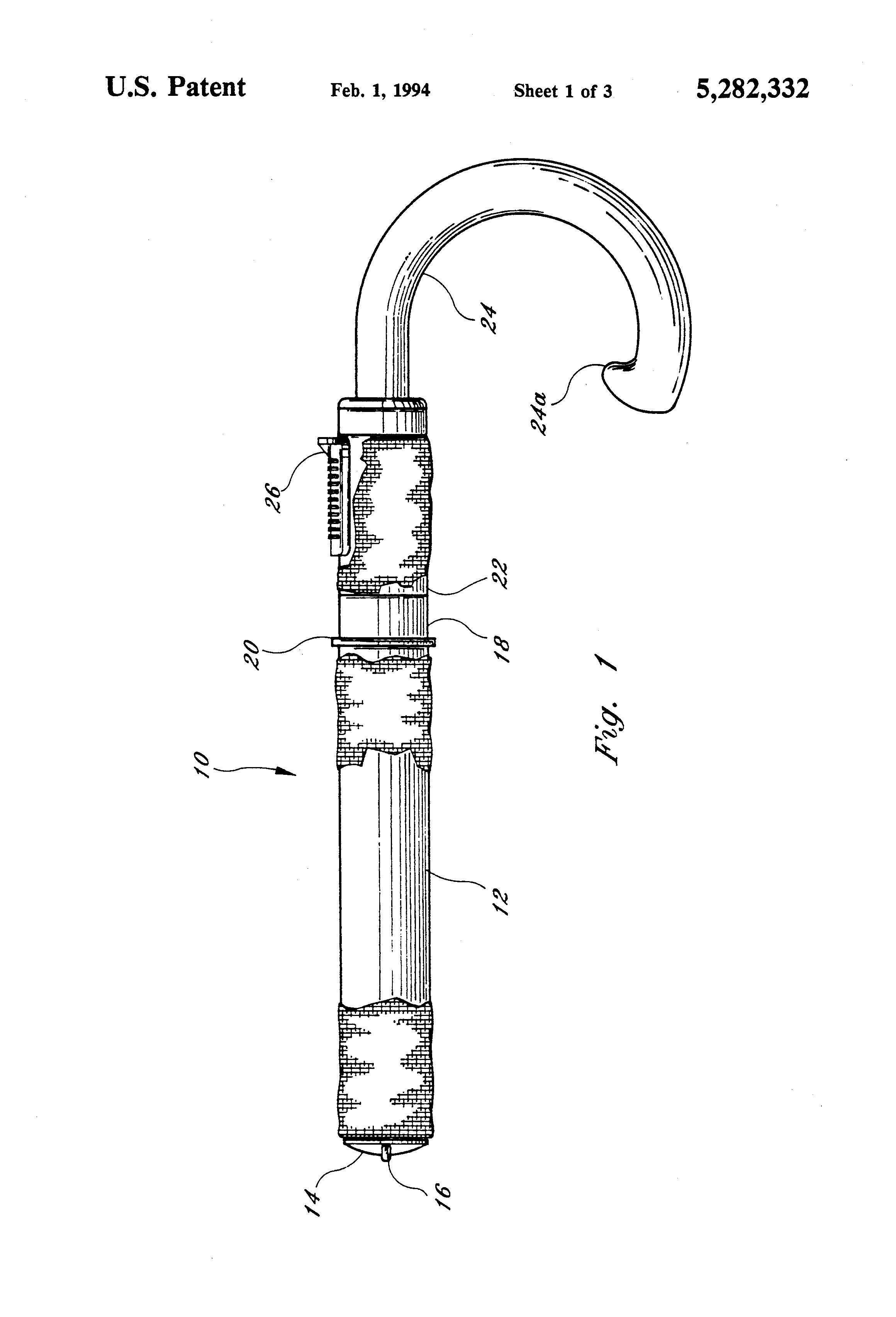 patent us5282332 - stun gun