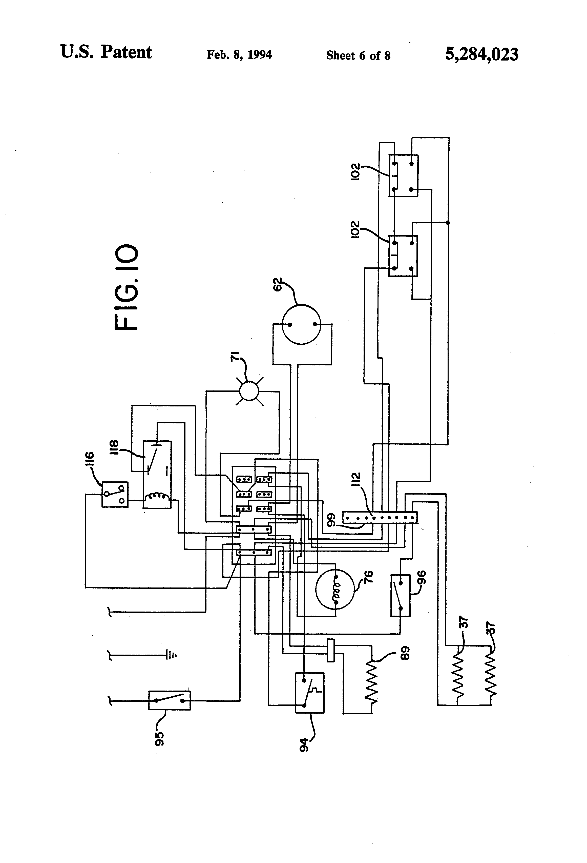 US5284023 6 bohn evaporator wiring diagram 230 460 motor wiring diagram \u2022 free rittal thermostat sk3110 wiring diagram at nearapp.co