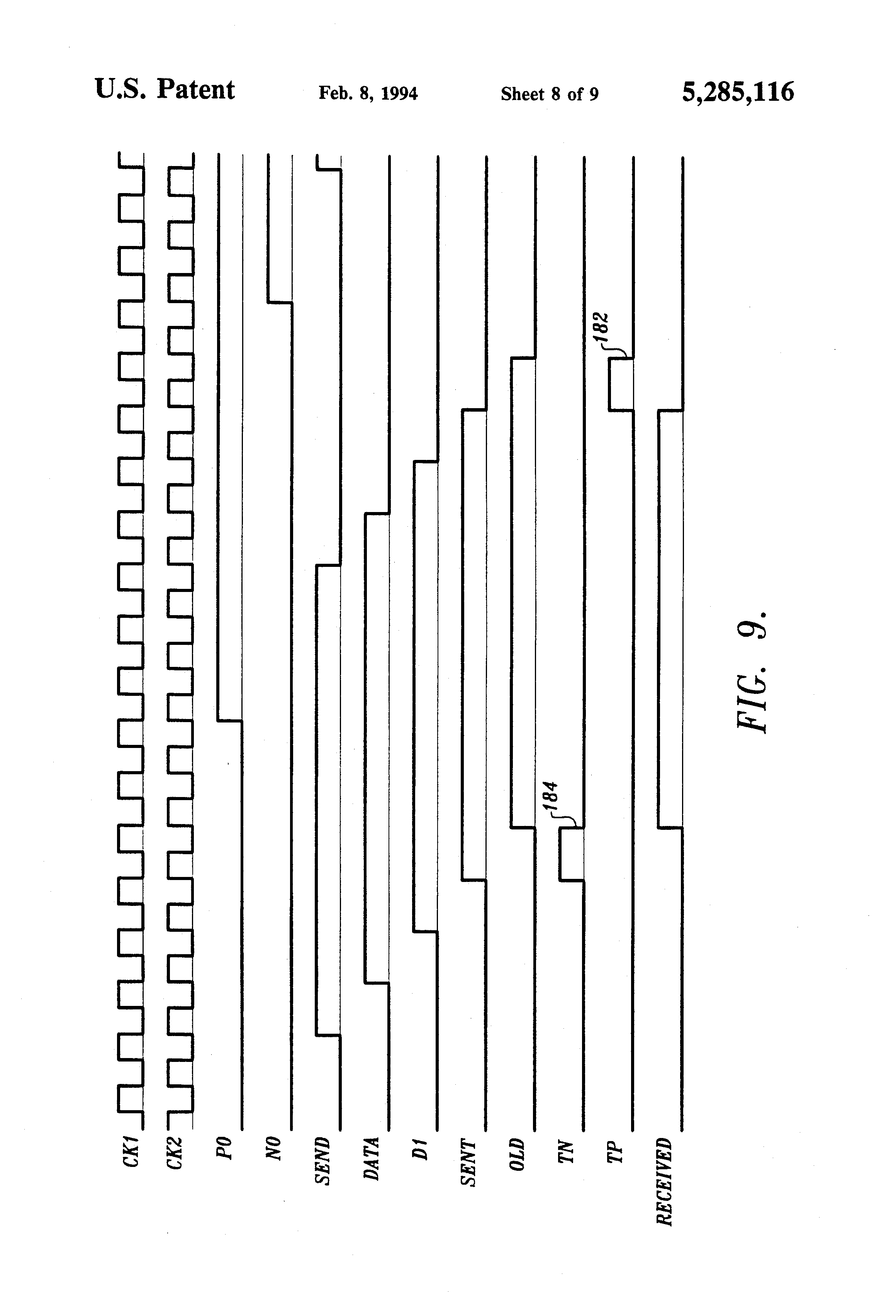 Patent Us5285116 Low Noise High Speed Output Buffer And Method For Registers On A Pcb This Ic Is Actually Highspeed Cmos Circuit Drawing