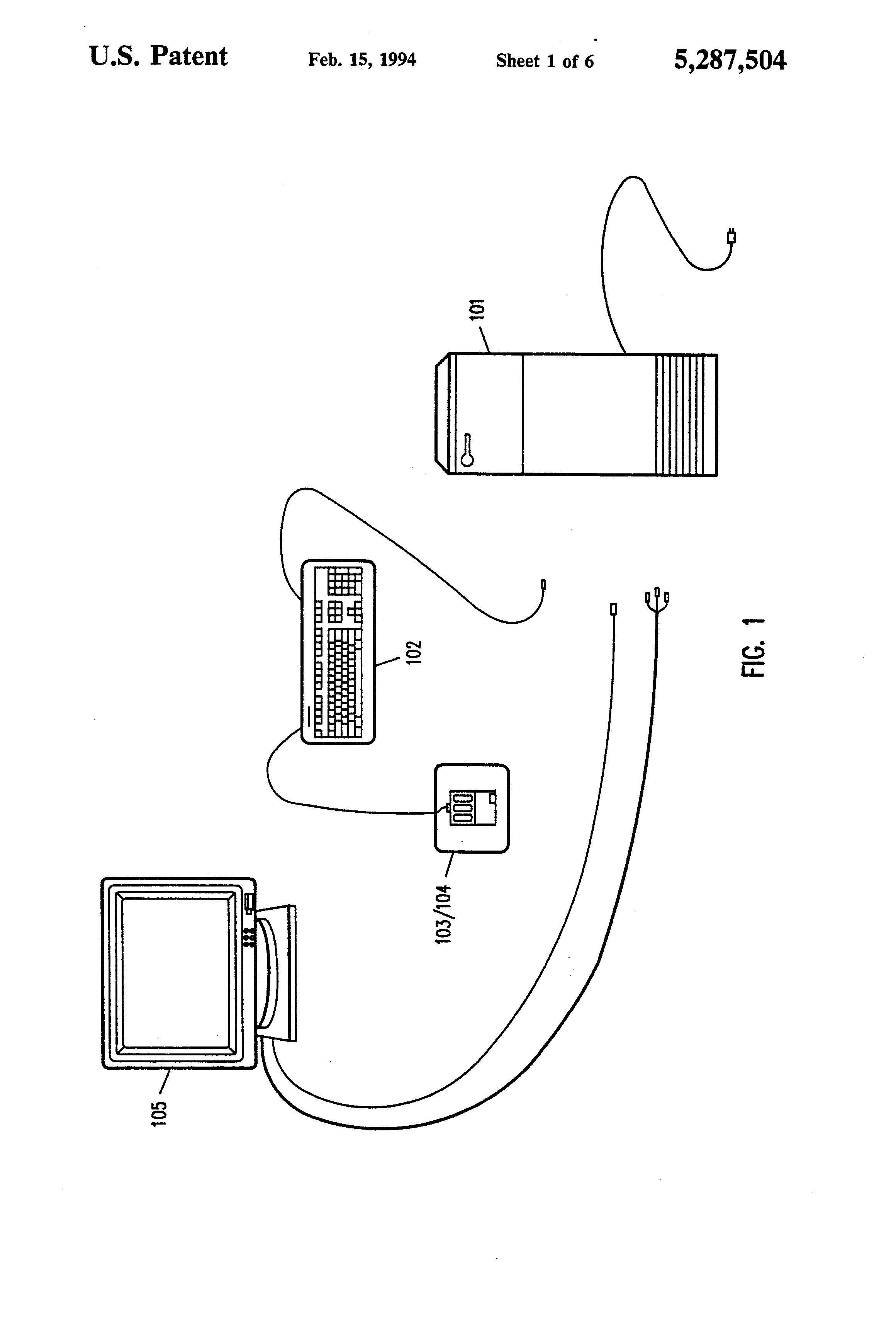 patent us5287504