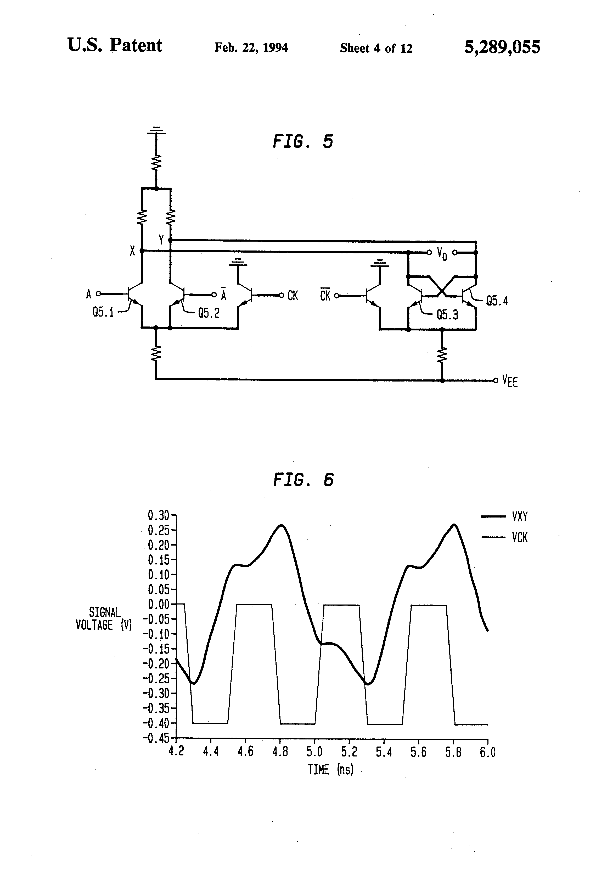 Patent Us5289055 Digital Ecl Bipolar Logic Gates Suitable For Low Multi Output Lowvoltage Power Supply Tel And Cmos Circuit Drawing