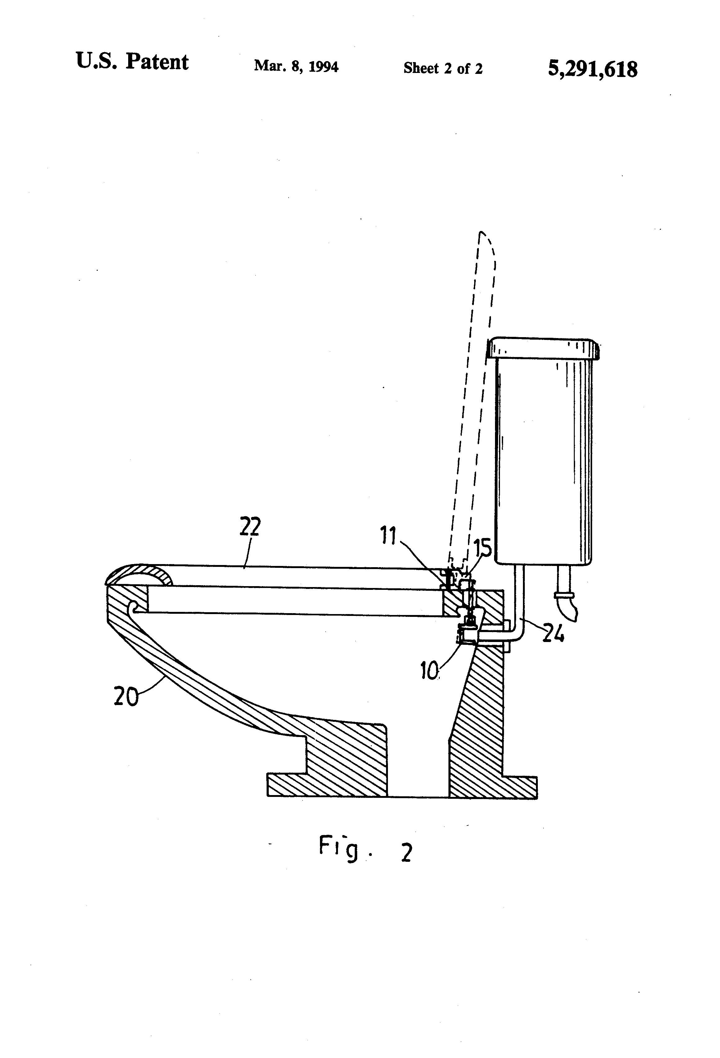 Seat Lift Mechanism : Patent us automatic toilet seat lift mechanism