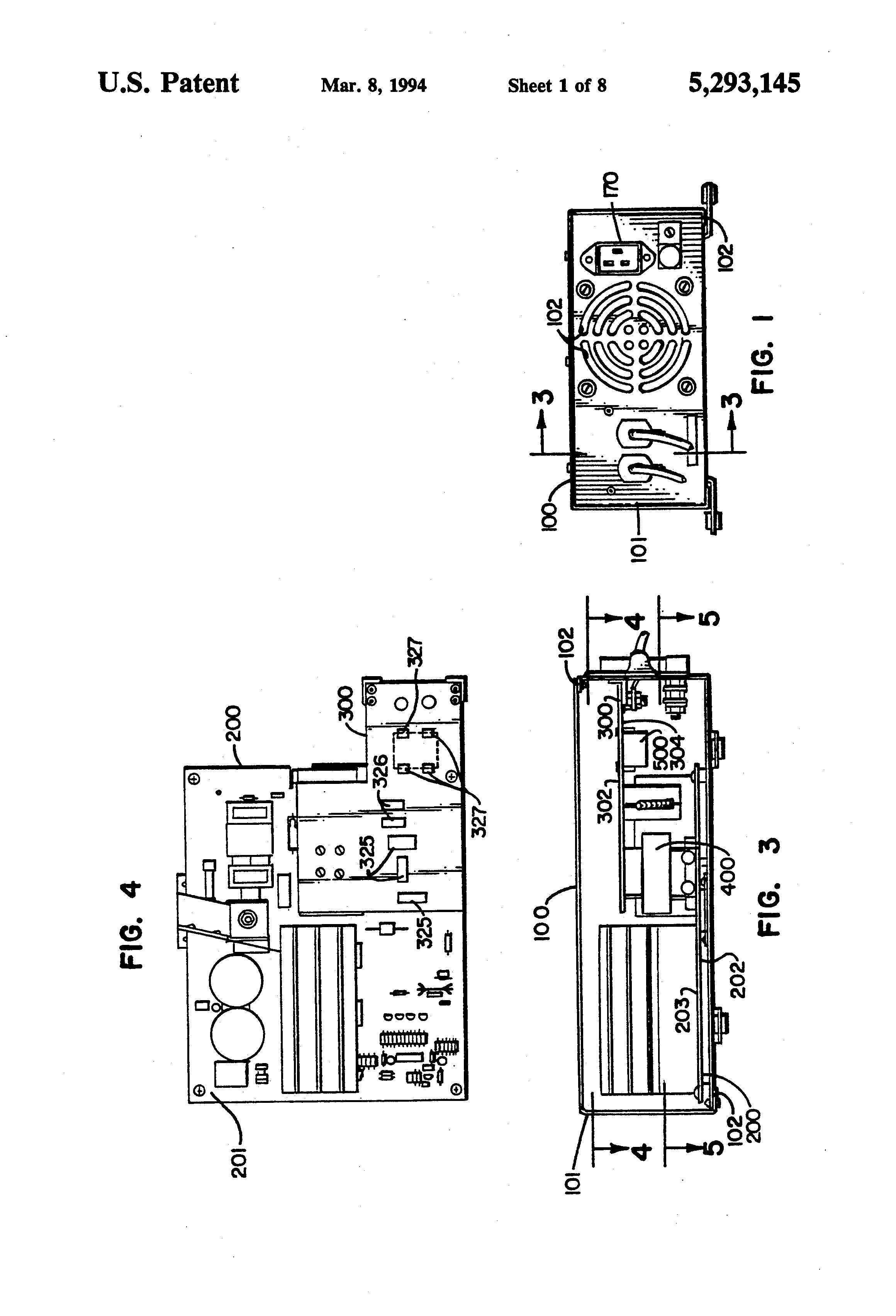 patent us5293145