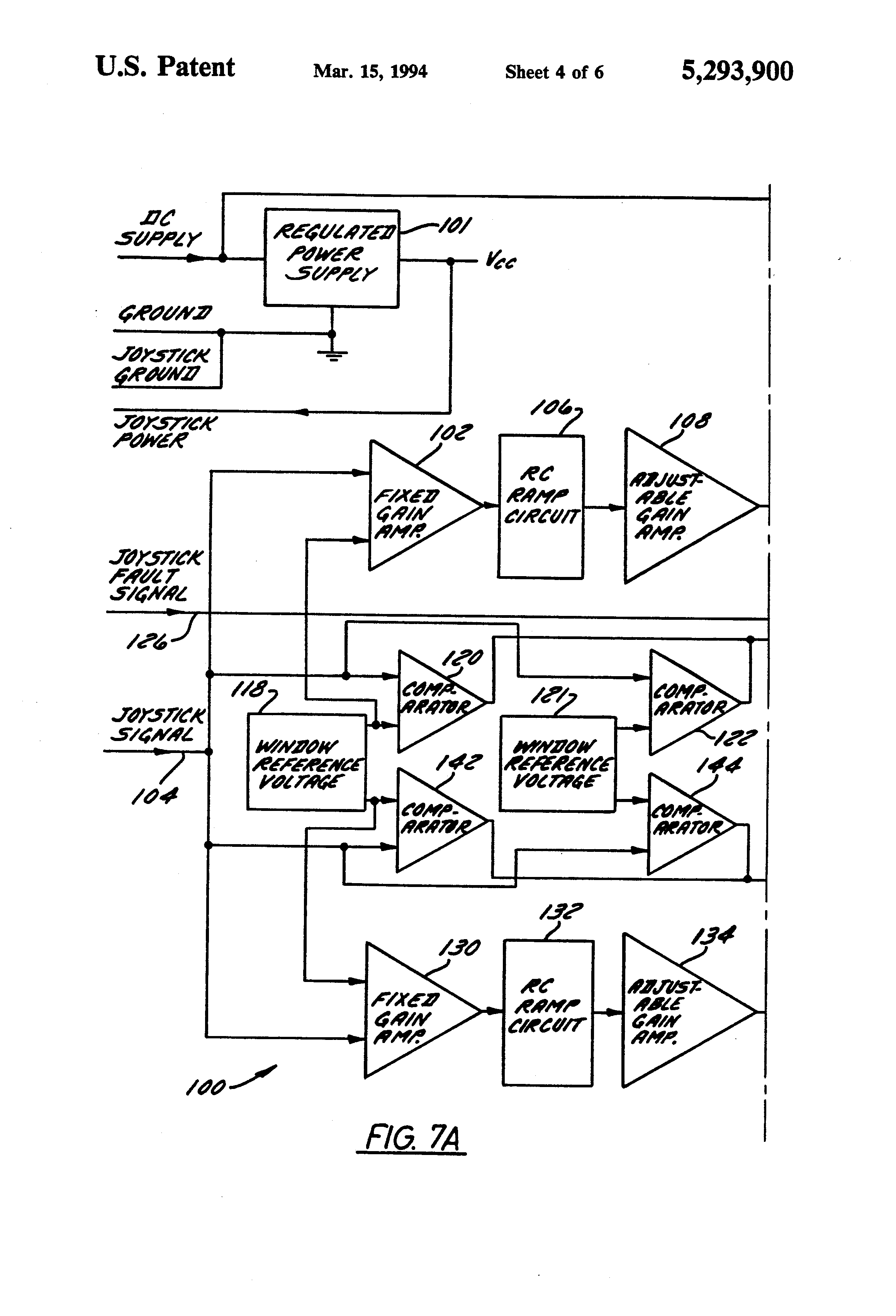 US5293900 4 patent us5293900 joystick with contactless direct drive device sauer danfoss joystick wiring diagram at cos-gaming.co