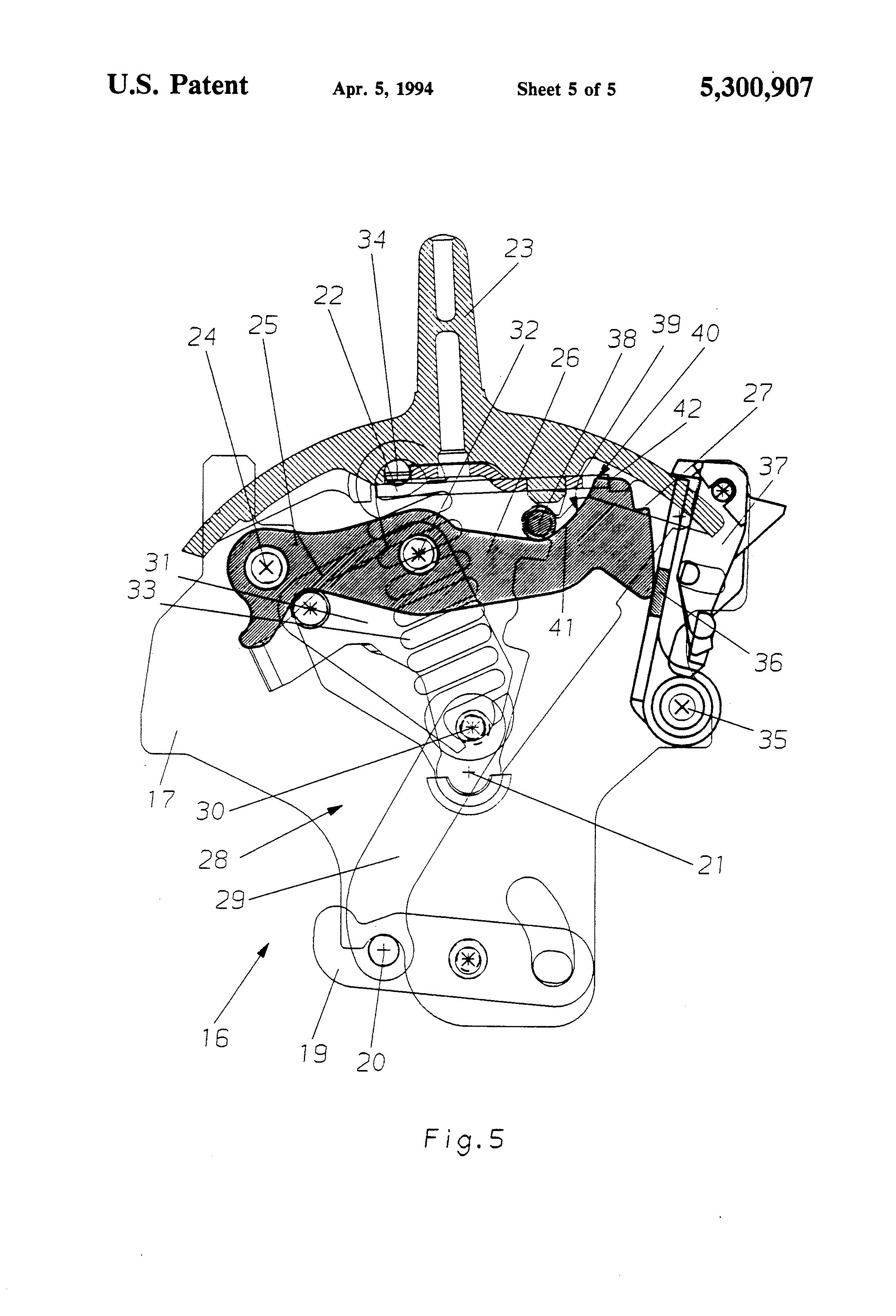 patent us5300907