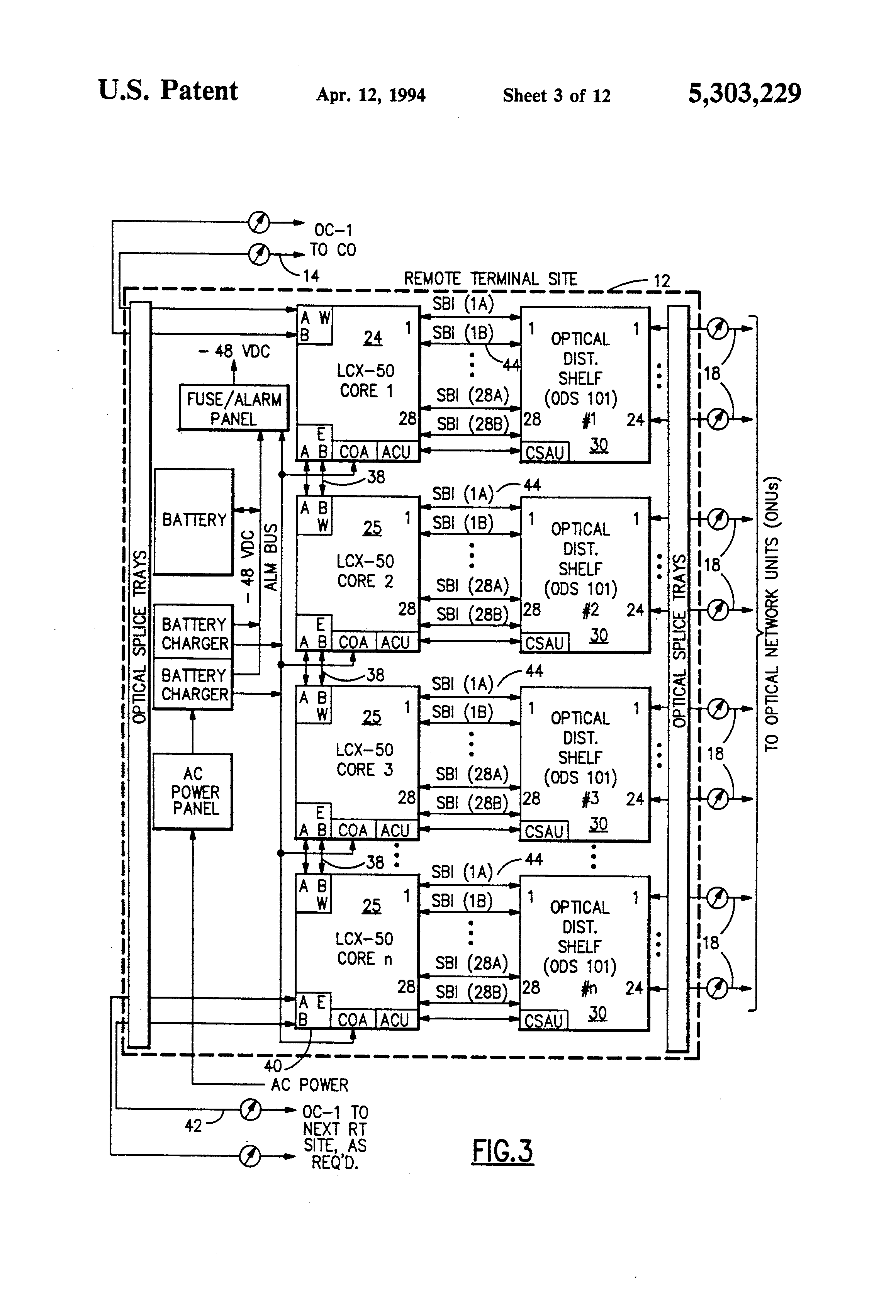 patent us5303229 optical network unit google patents