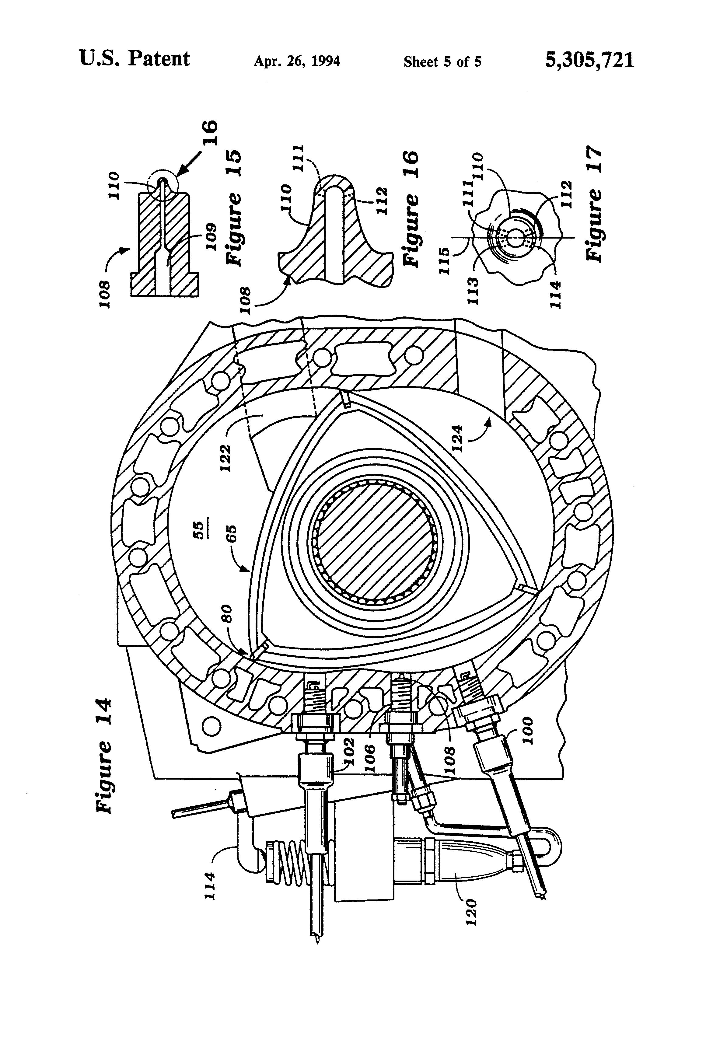 Patent US5305721 Rotary Wankel type engine Google Patents – Rotary Engine Diagram Oil Pump Motor