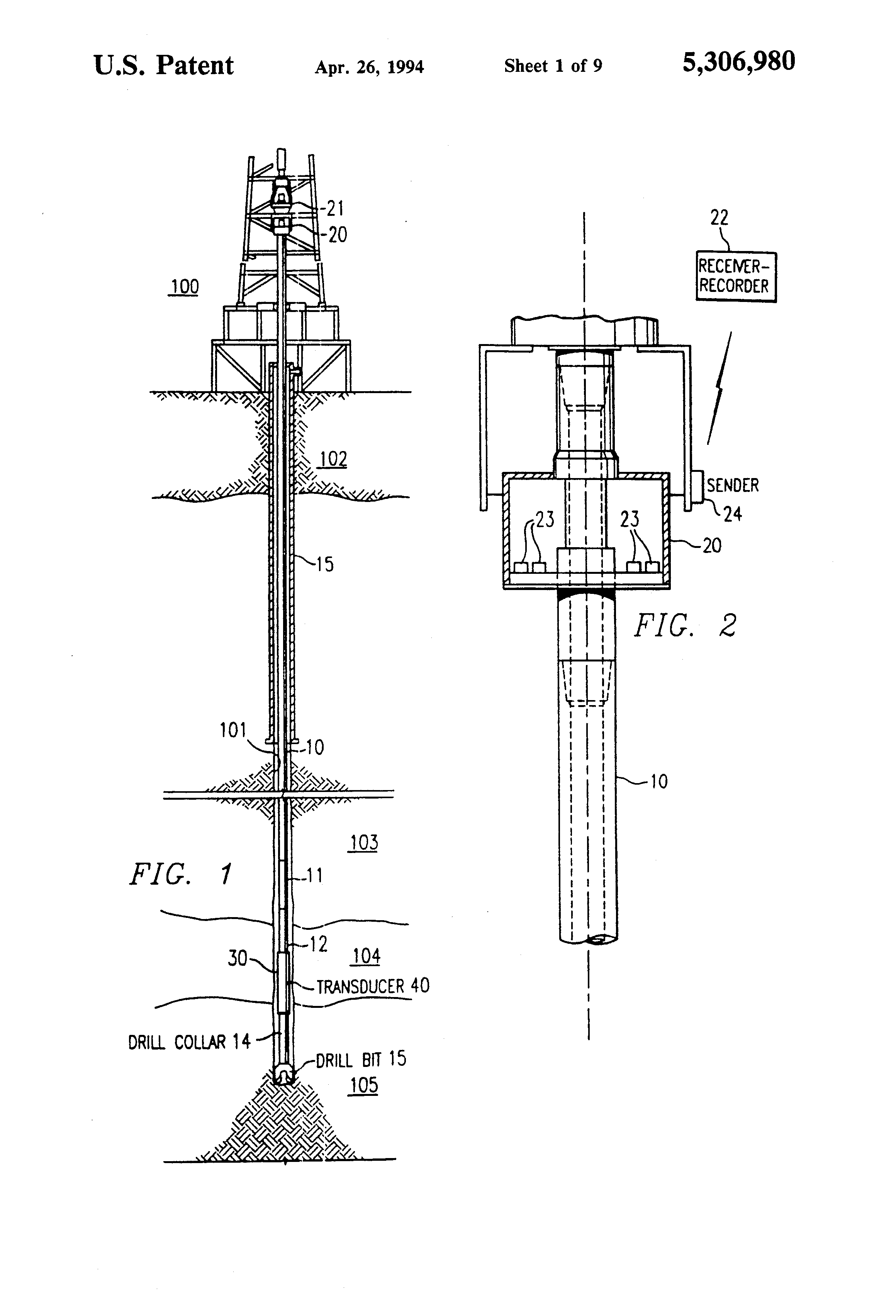 Patent Us5306980 Torsional Force Transducer And Method Of Xr2211 Linear Fm Detector Simple Circuit Diagram Drawing