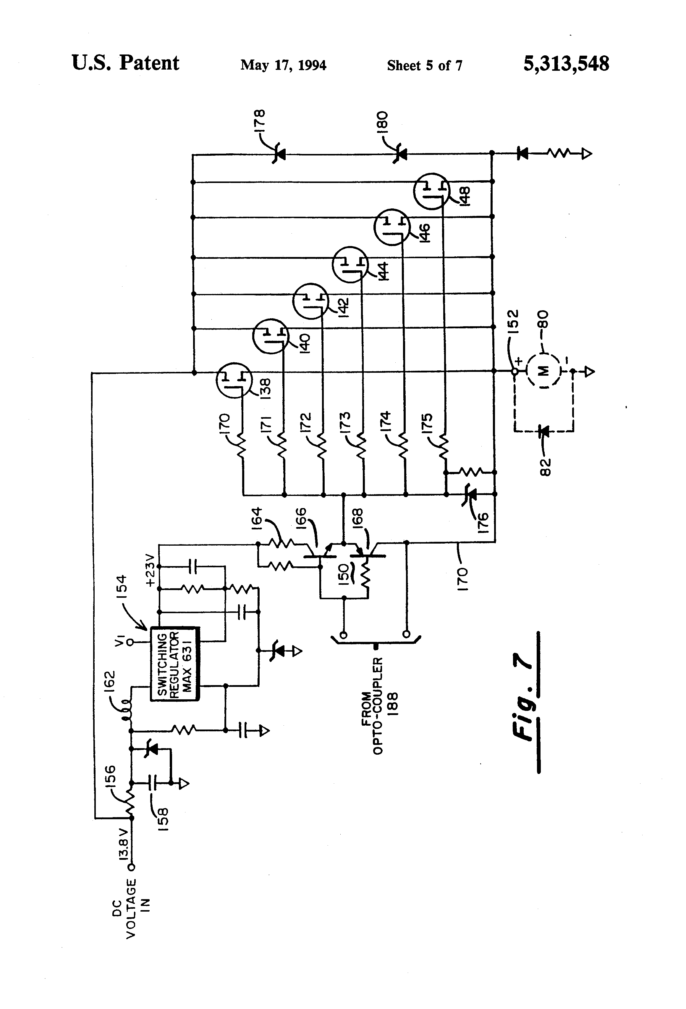 Patent Us5313548 Direct Current Motor Speed Controller