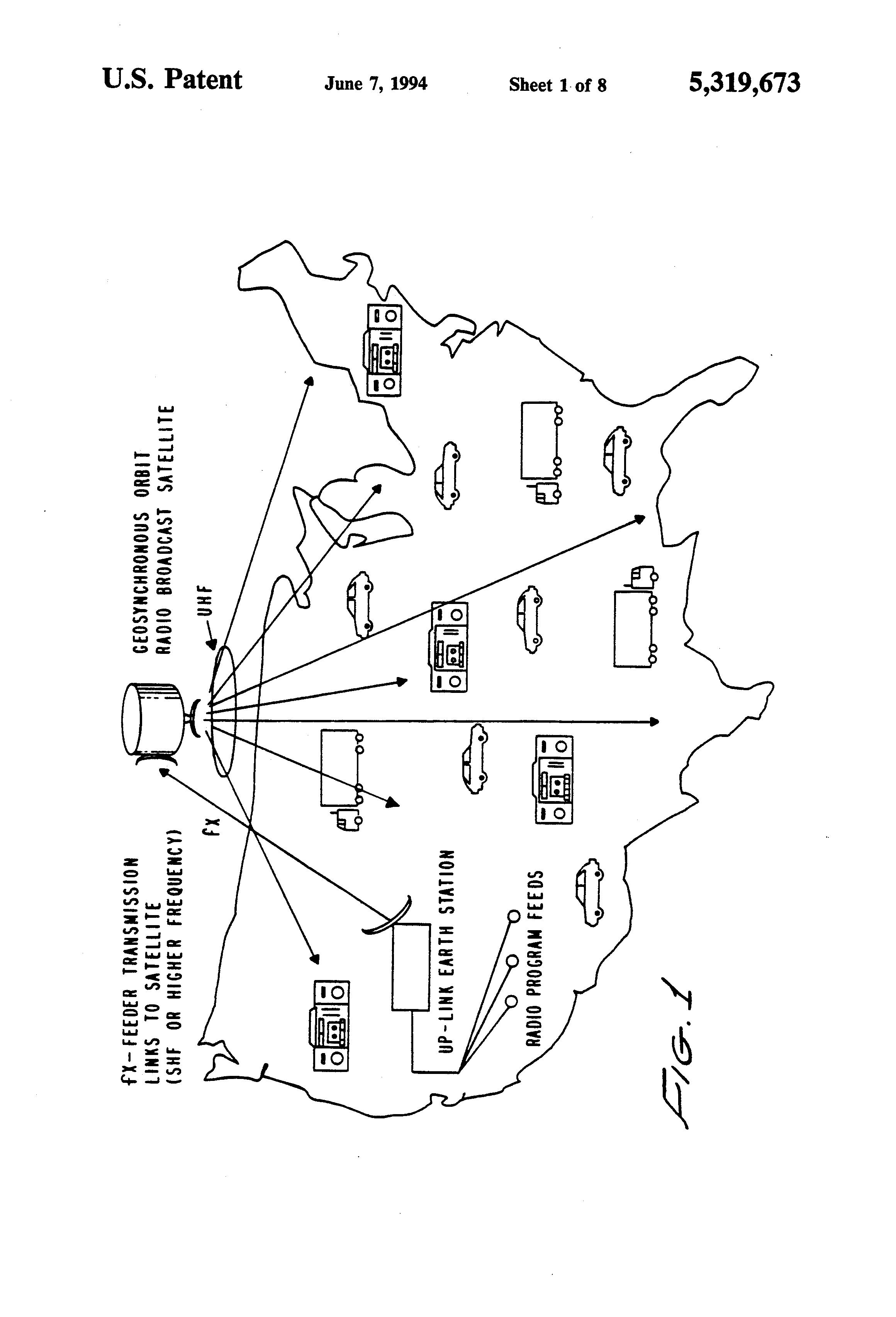 patent us5319673