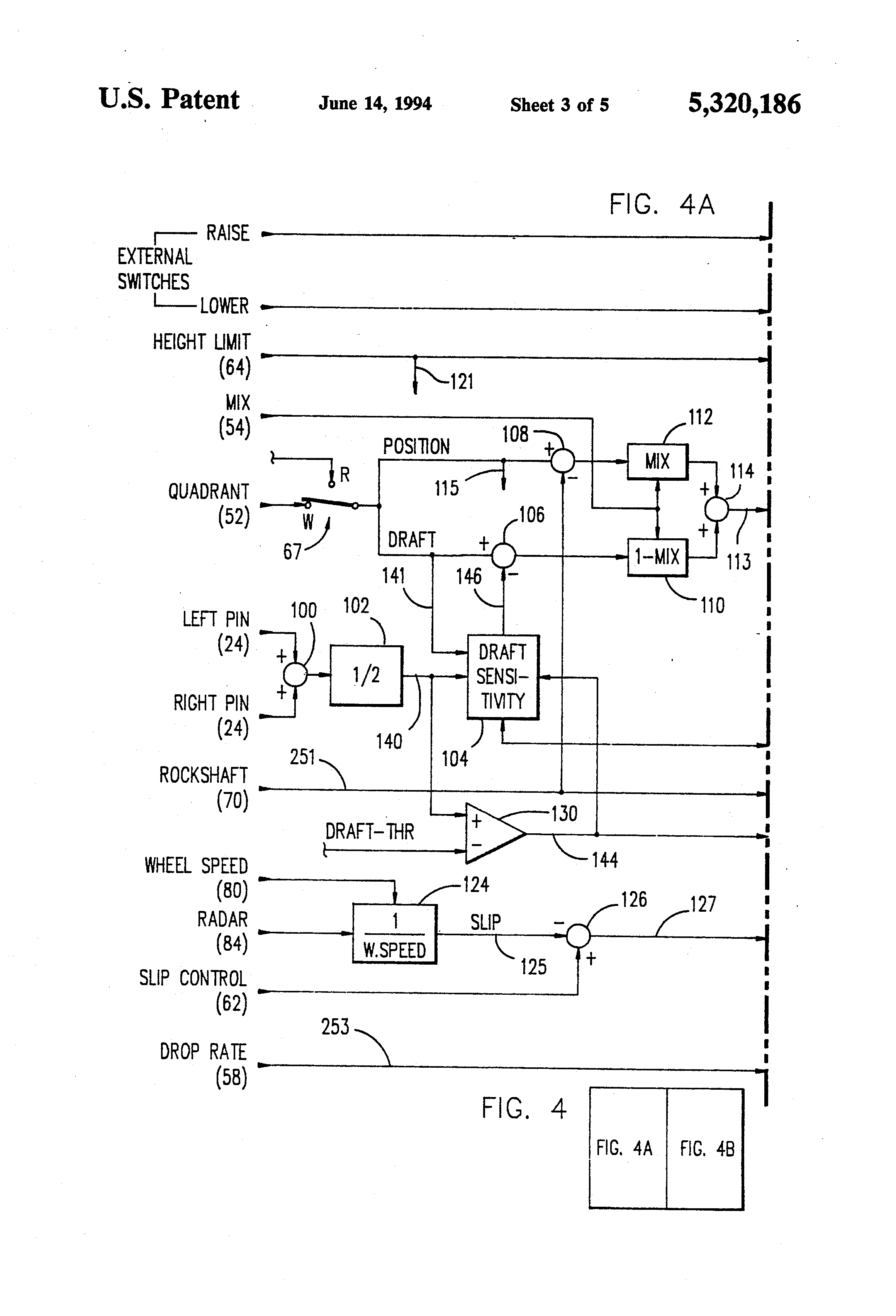 cornell e 114 3 wiring diagram cornell image patent us5320186 draft control system closed loop drop on cornell e 114 3 wiring diagram